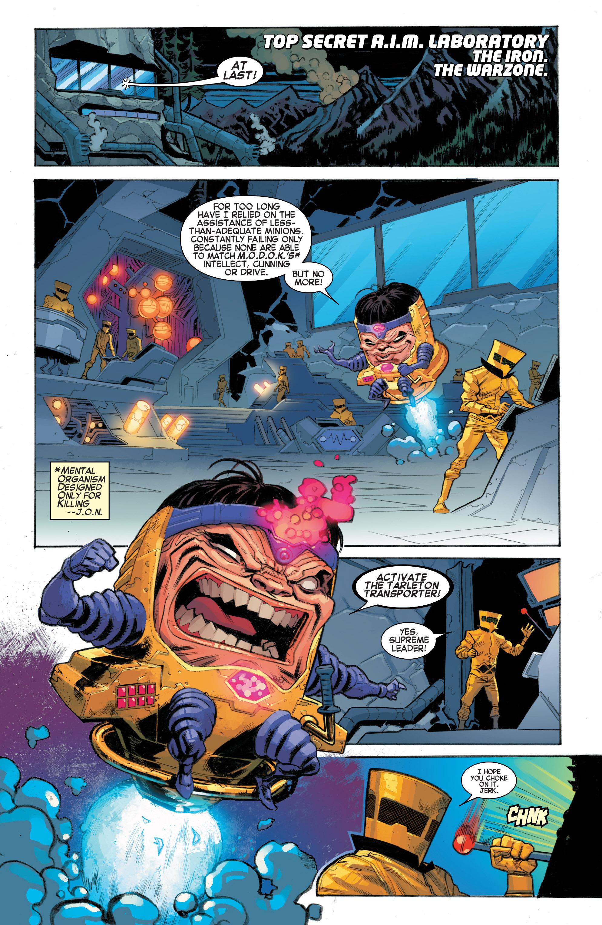 Read online Secret Wars: Battleworld comic -  Issue #1 - 12