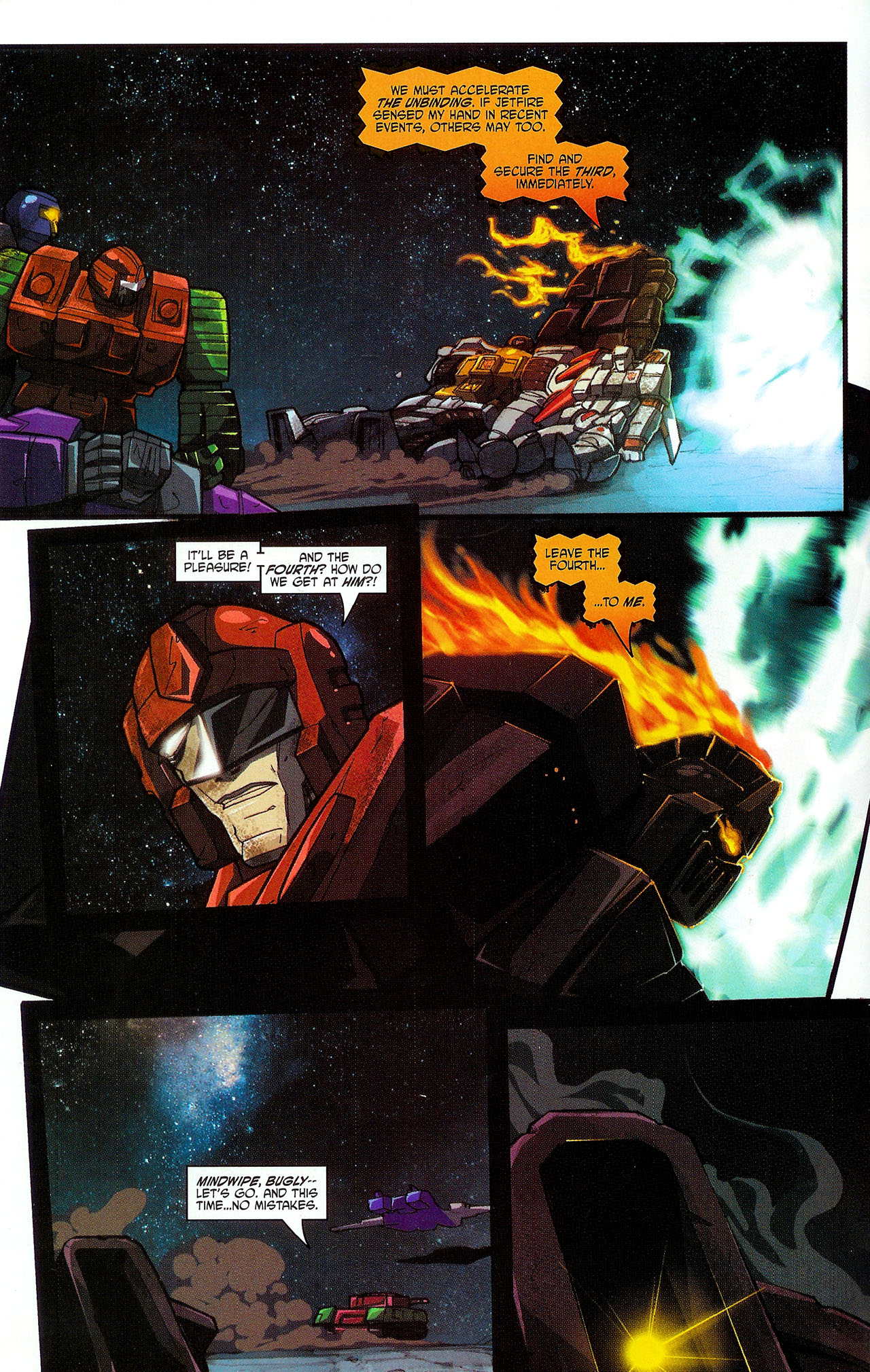 """Read online Transformers War Within: """"The Dark Ages"""" comic -  Issue #5 - 6"""
