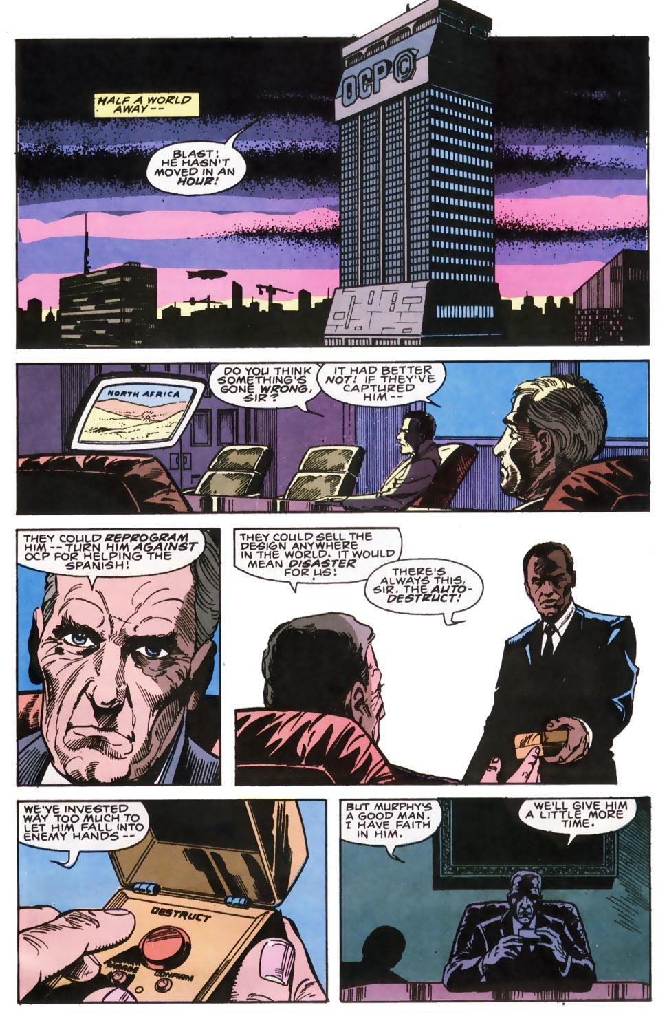 Read online Robocop (1990) comic -  Issue #6 - 9
