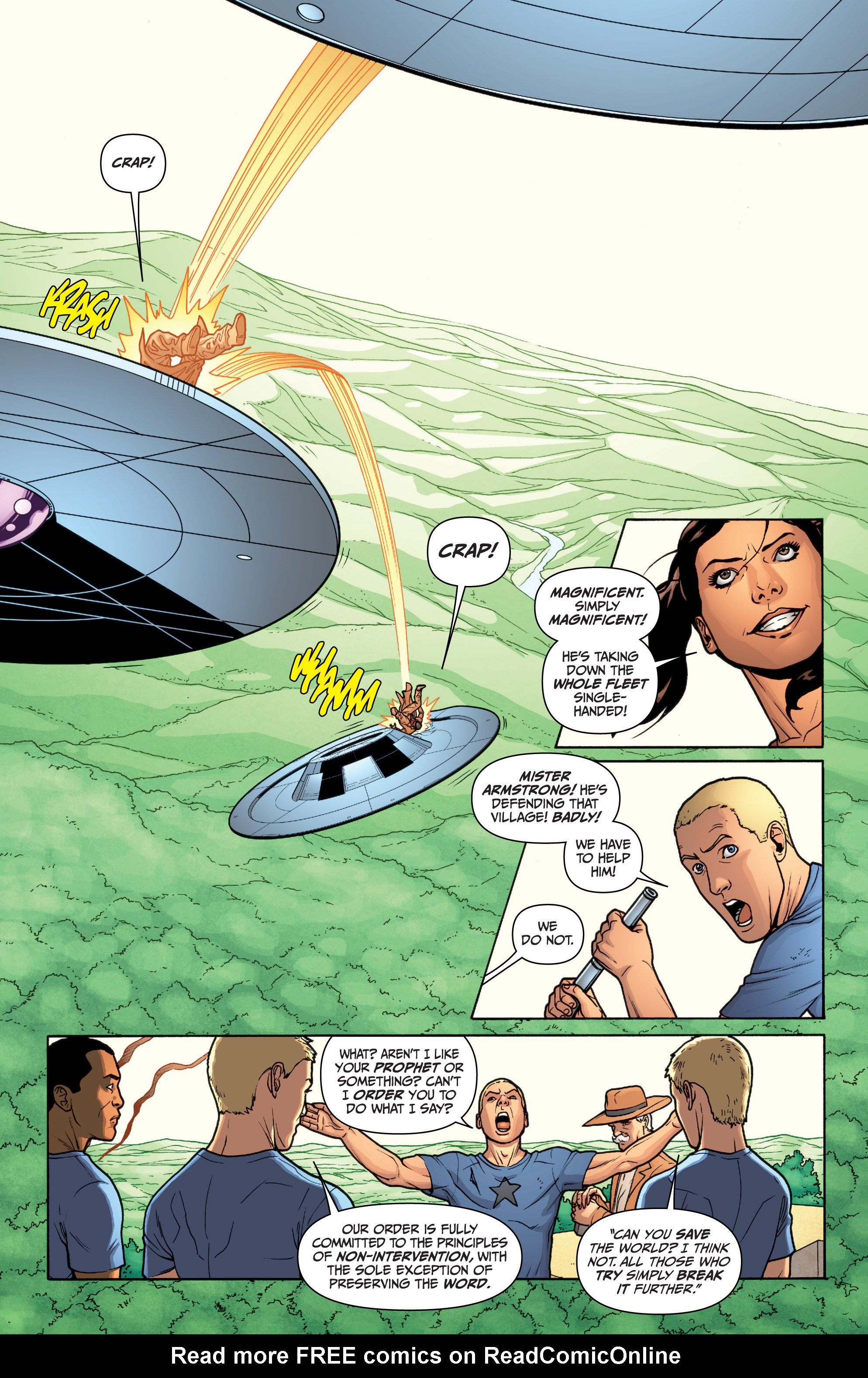 Read online Archer and Armstrong comic -  Issue #Archer and Armstrong _TPB 3 - 86