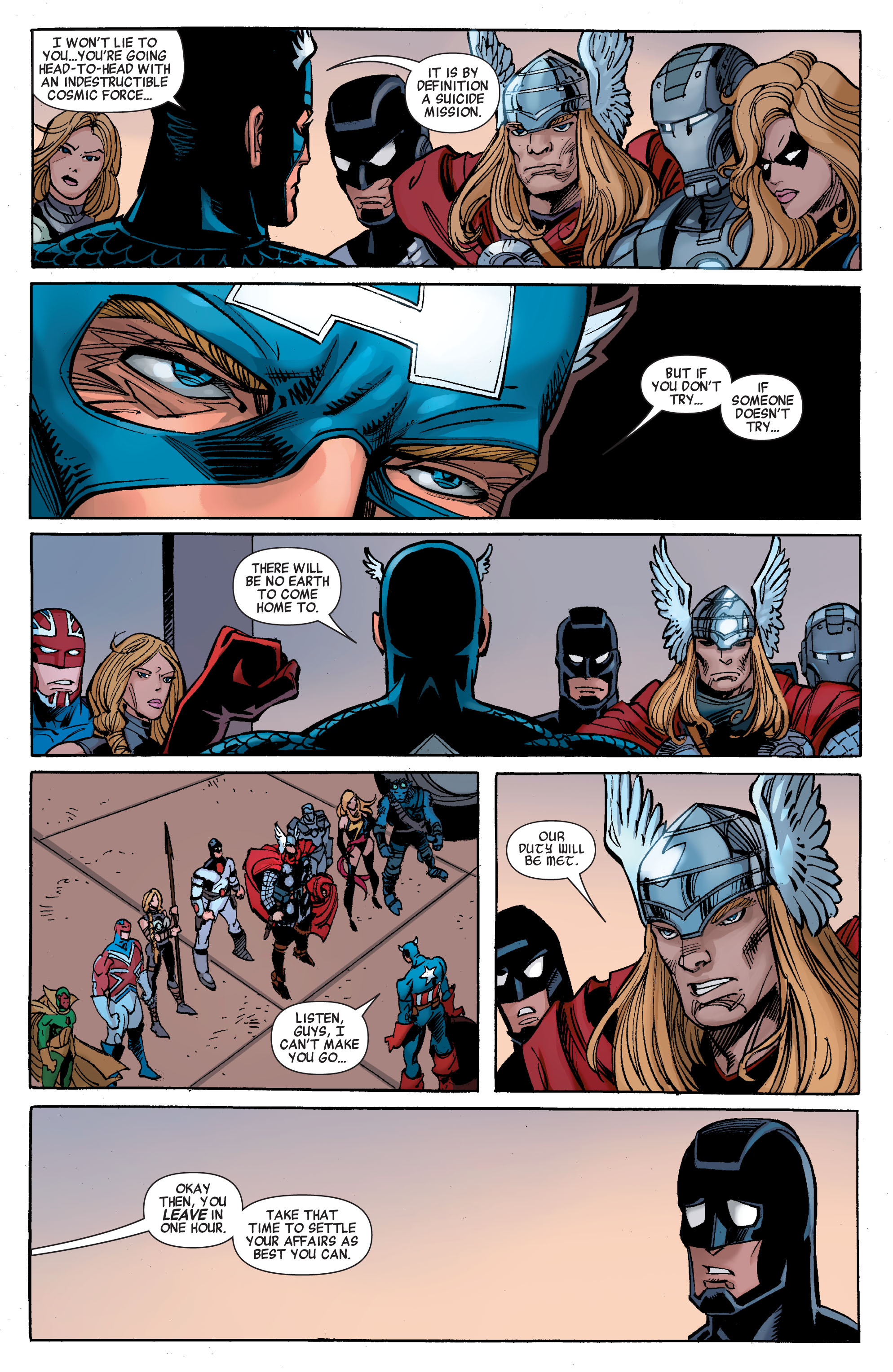 Read online Avengers (2010) comic -  Issue #26 - 4
