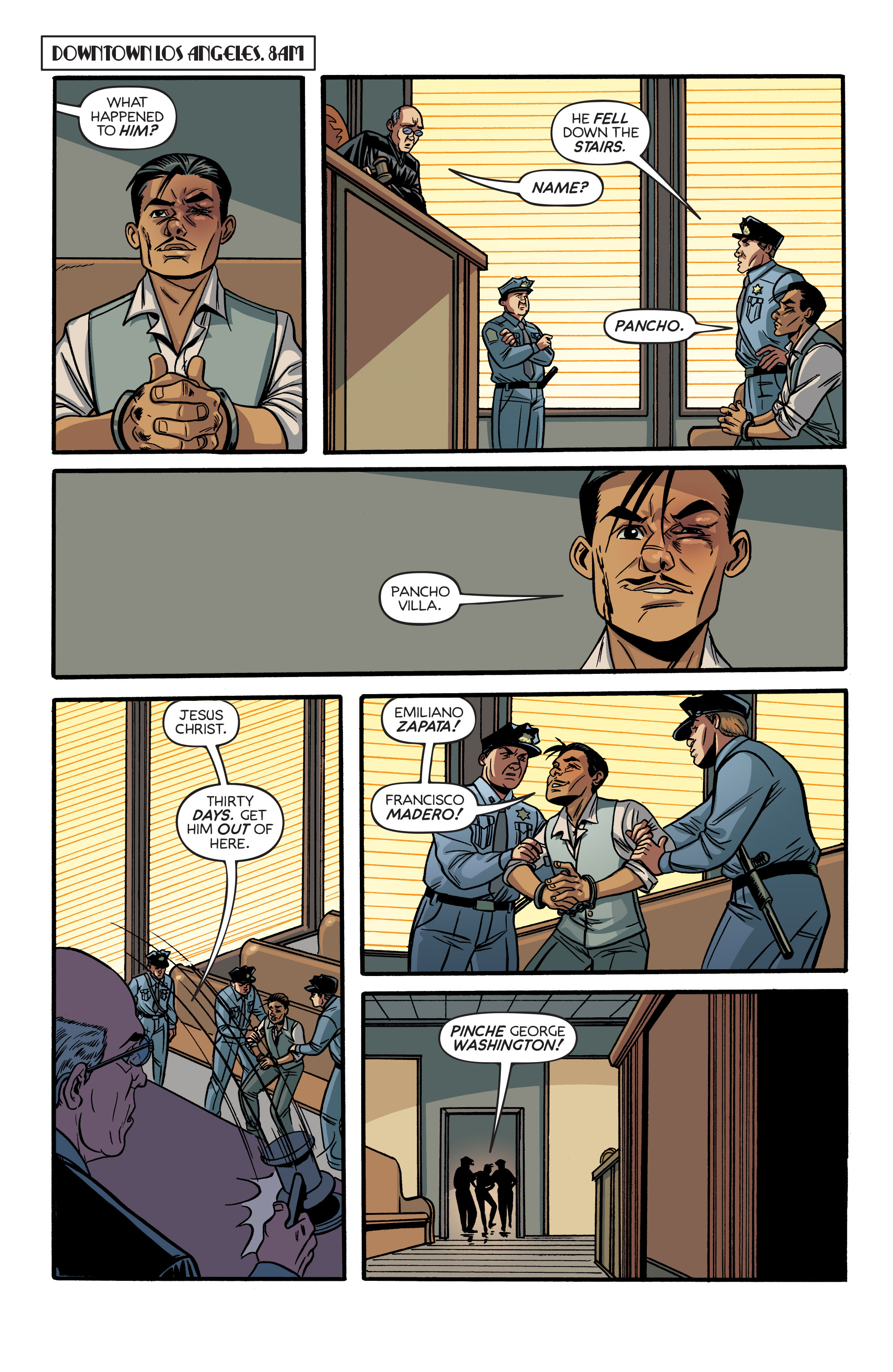 Read online Angel City comic -  Issue #6 - 14