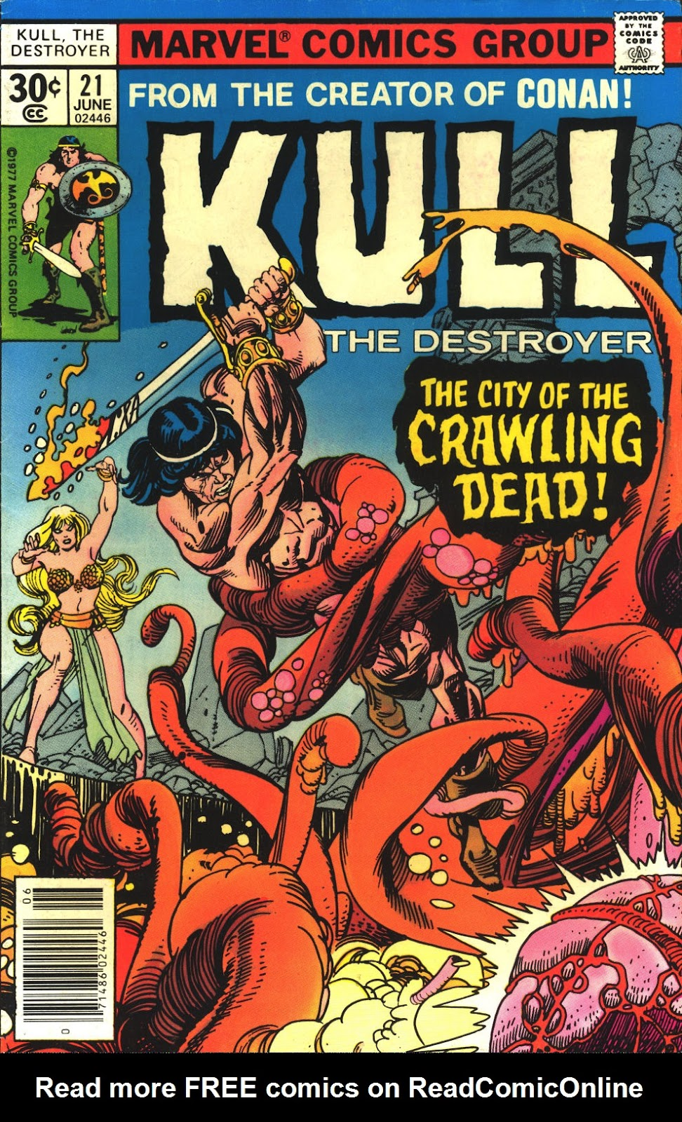 Kull The Destroyer issue 21 - Page 1