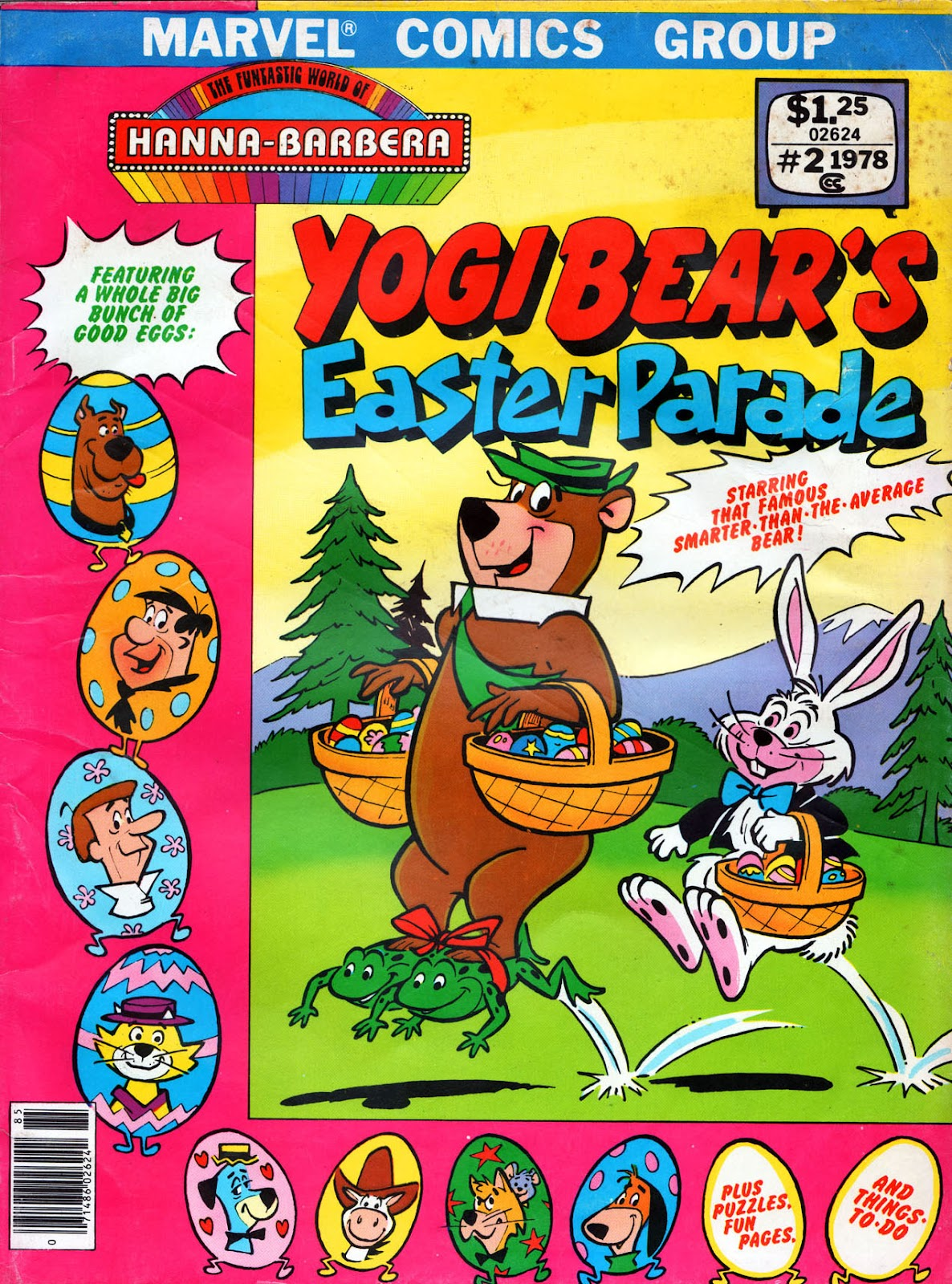 Yogi Bear's Easter Parade issue Full - Page 1