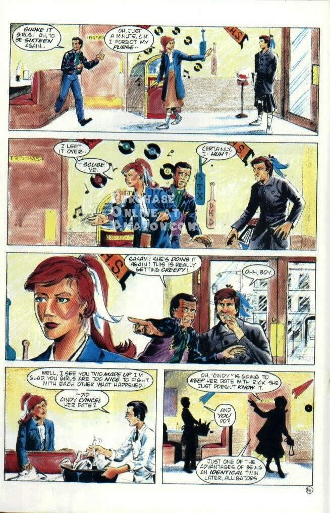 Read online Quantum Leap comic -  Issue #6 - 17
