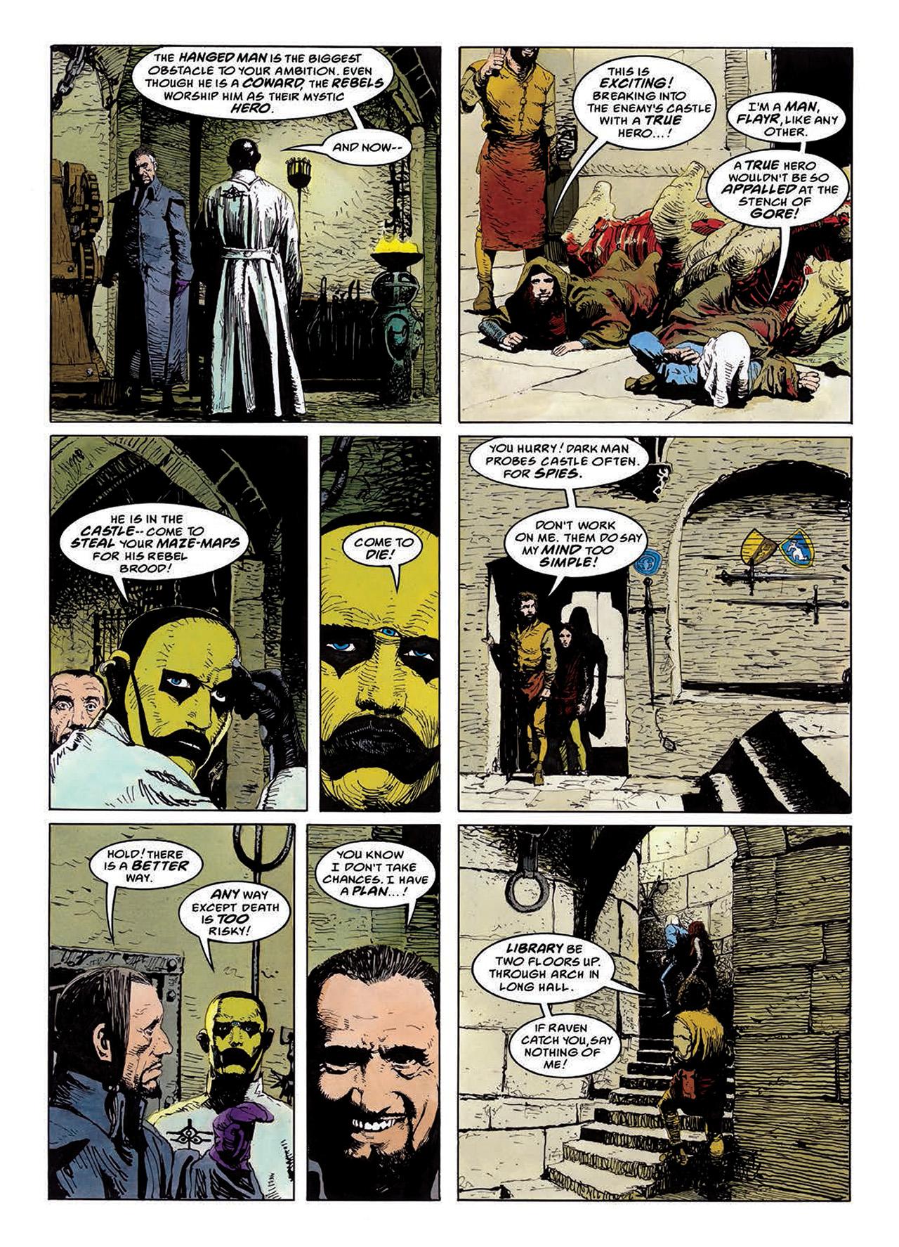 Read online Mazeworld comic -  Issue # TPB - 80
