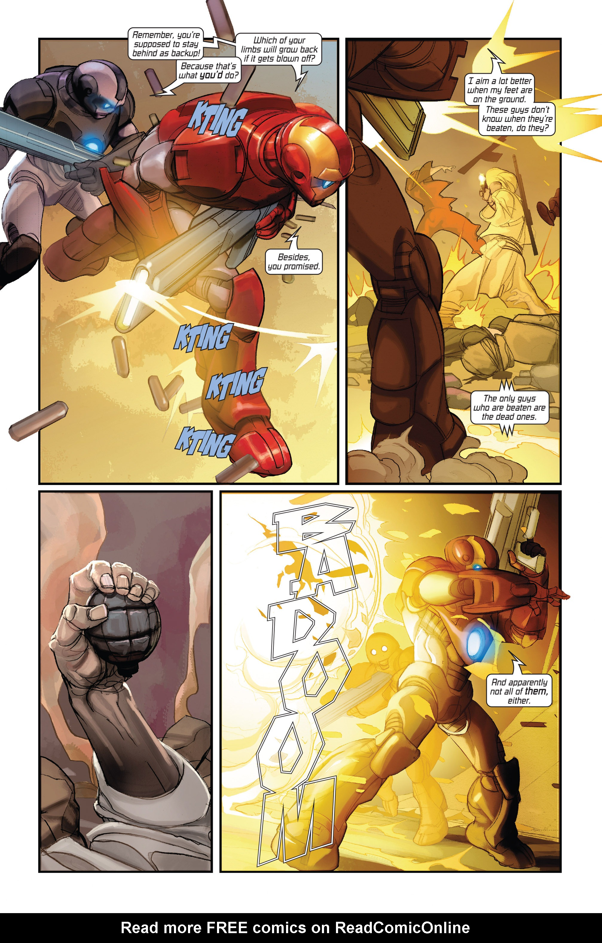 Read online Ultimate Iron Man II comic -  Issue #1 - 23