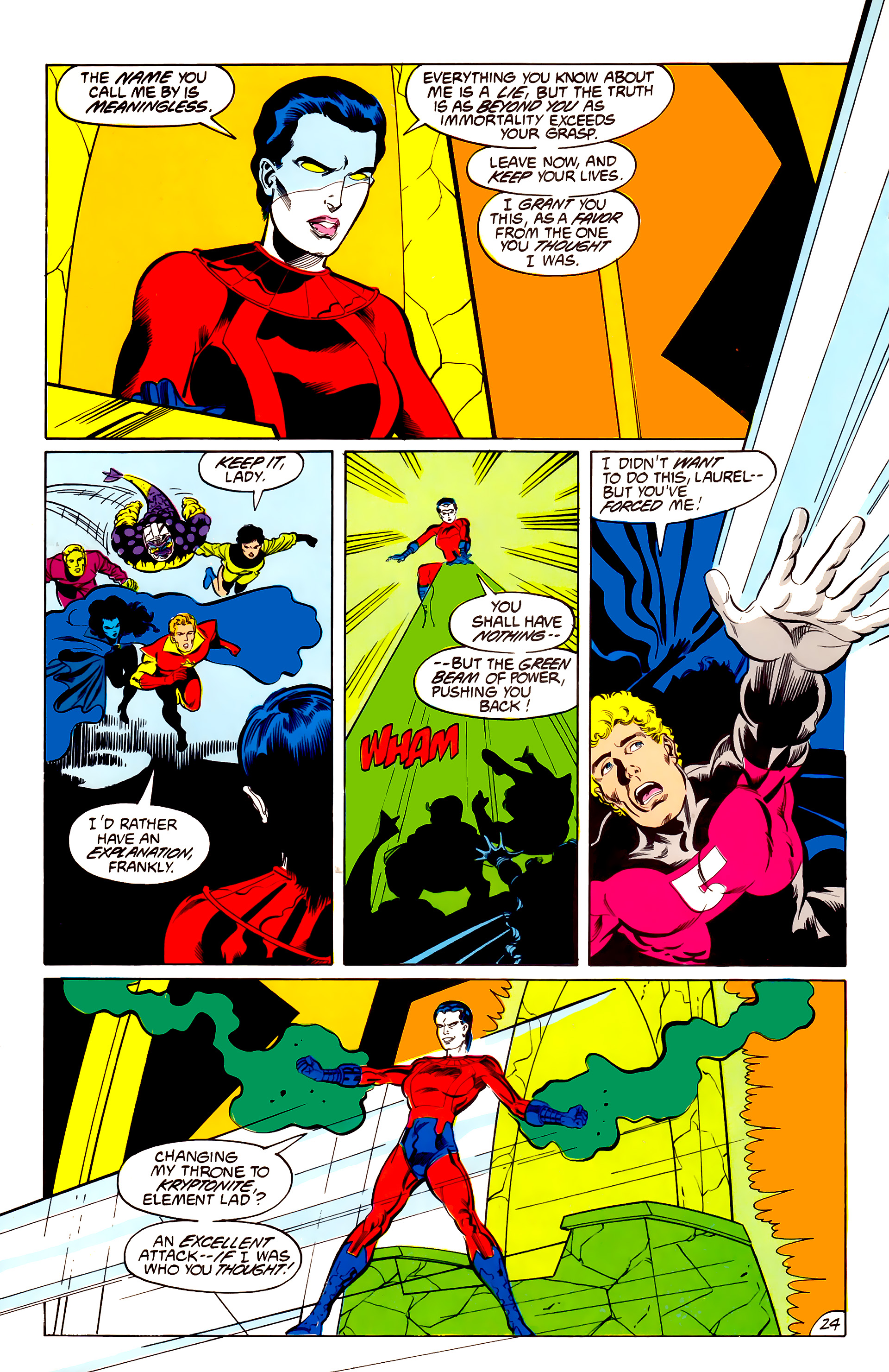 Legion of Super-Heroes (1984) 42 Page 24