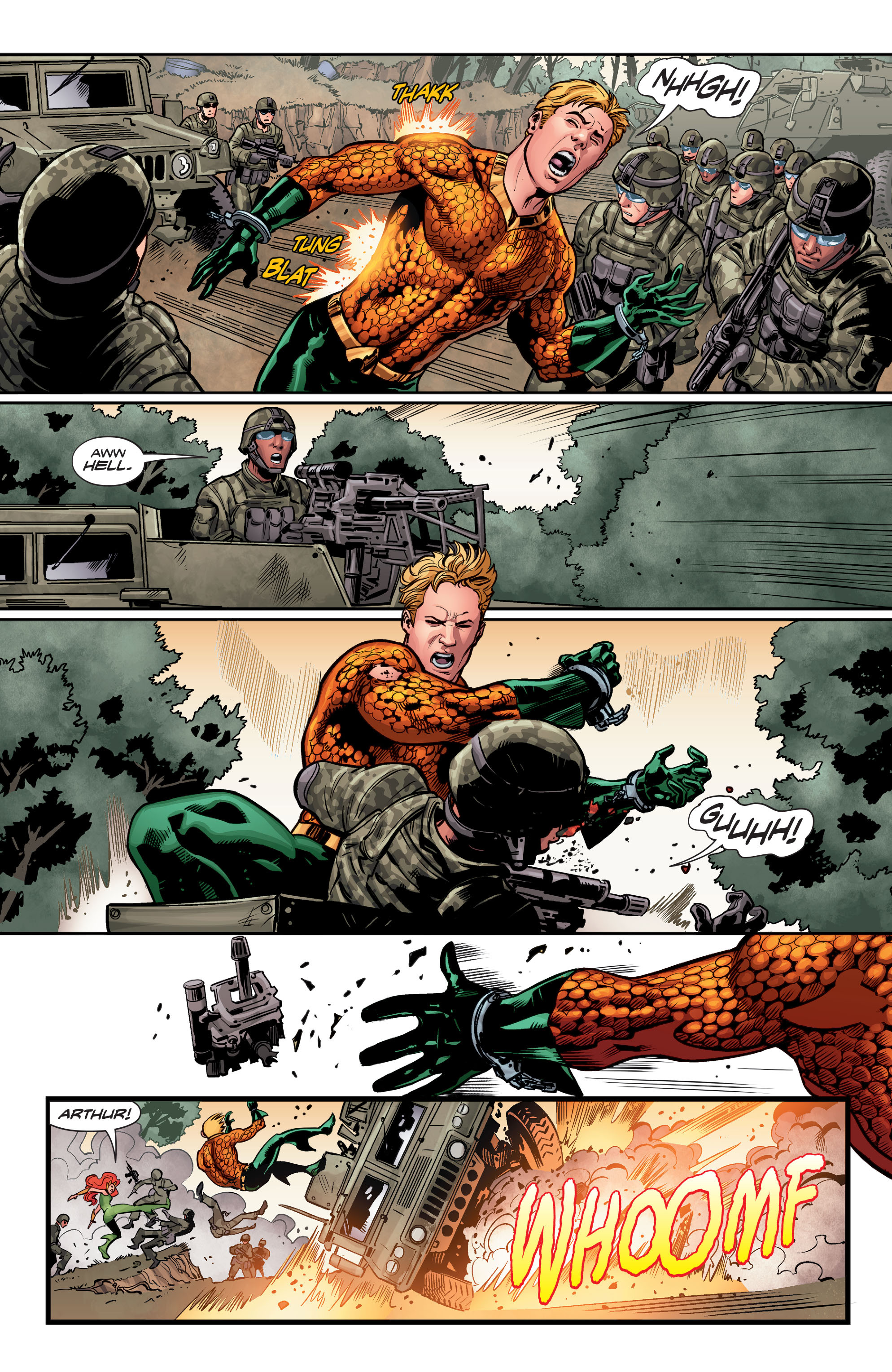 Read online Aquaman (2016) comic -  Issue #5 - 13