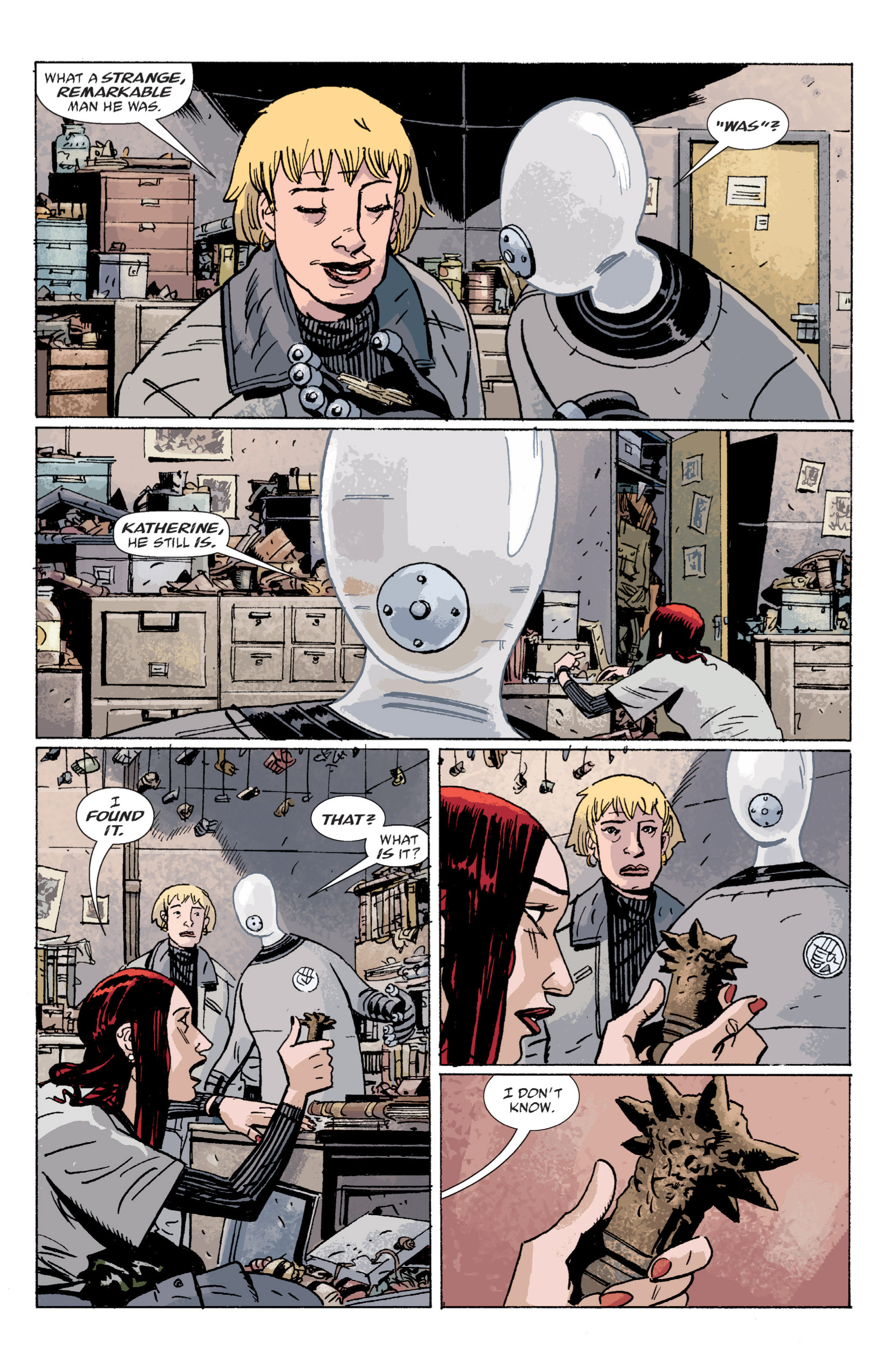 Read online B.P.R.D. (2003) comic -  Issue # TPB 5 - 132