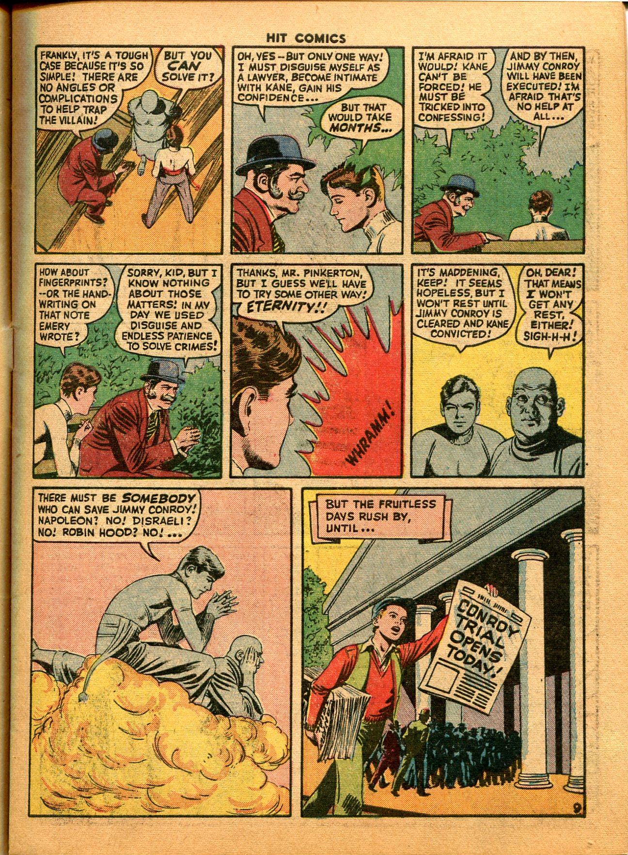 Read online Hit Comics comic -  Issue #35 - 11