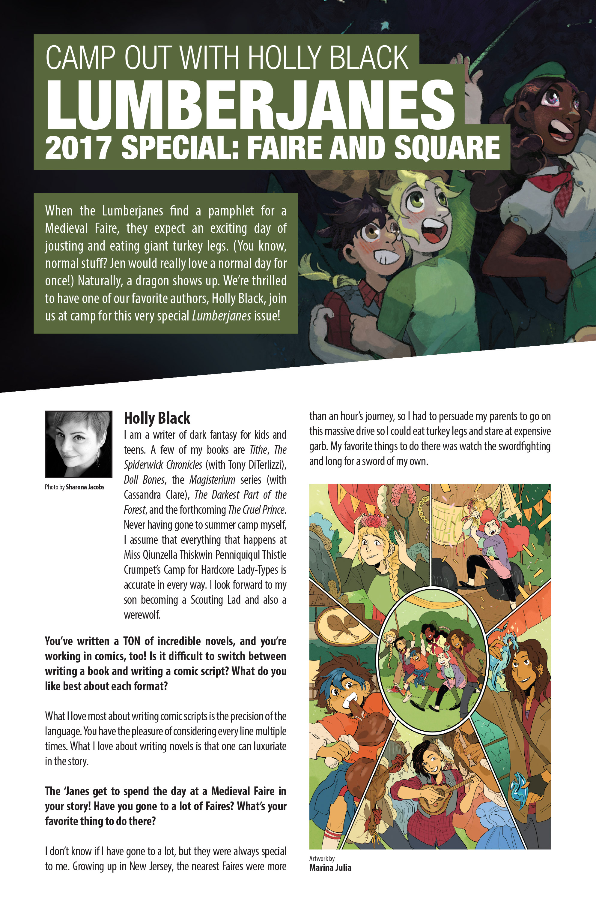 Read online Brave Chef Brianna comic -  Issue #4 - 28