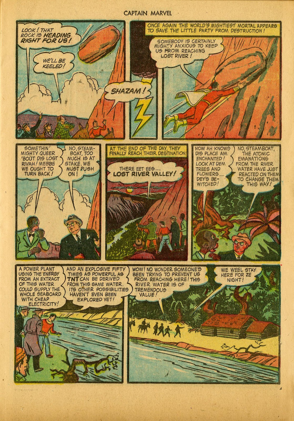 Captain Marvel Adventures issue 36 - Page 21