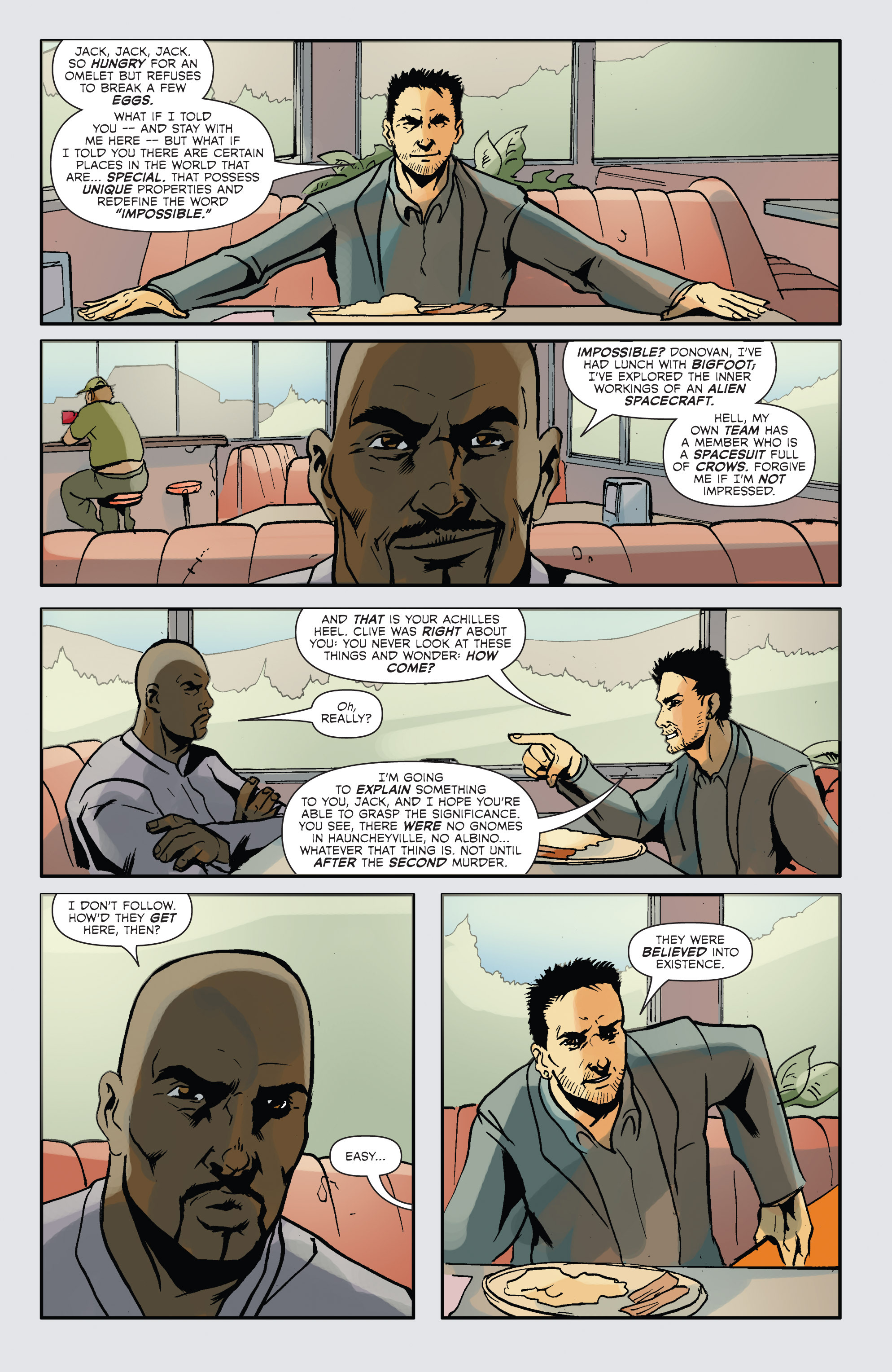 Read online Hoax Hunters (2012) comic -  Issue # TPB 2 - 58