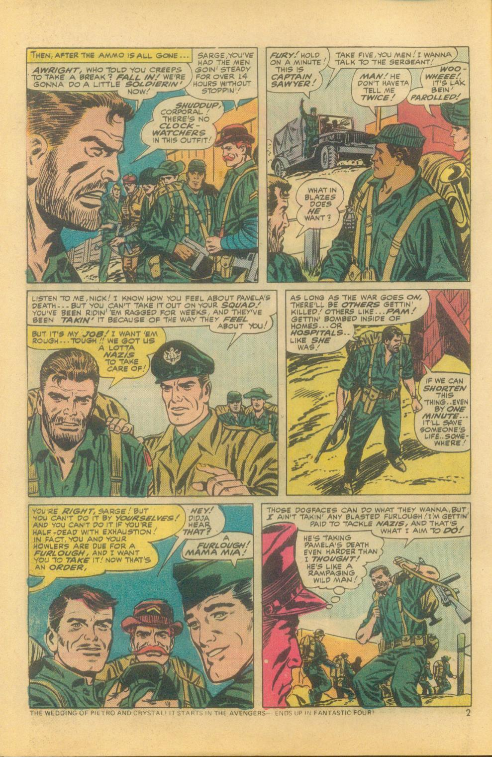 Read online Sgt. Fury comic -  Issue #121 - 4