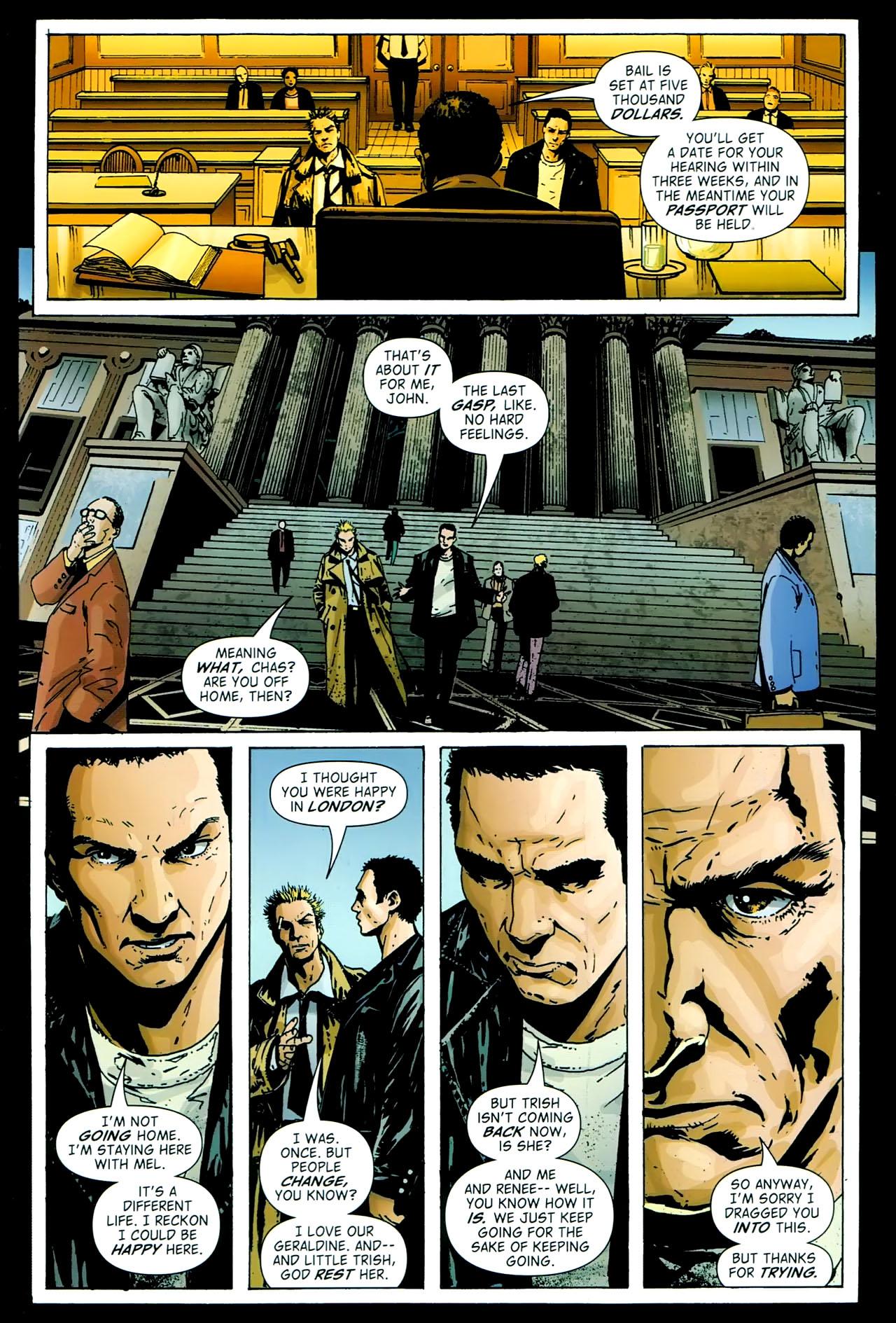 Read online John Constantine Hellblazer: All His Engines comic -  Issue # Full - 95