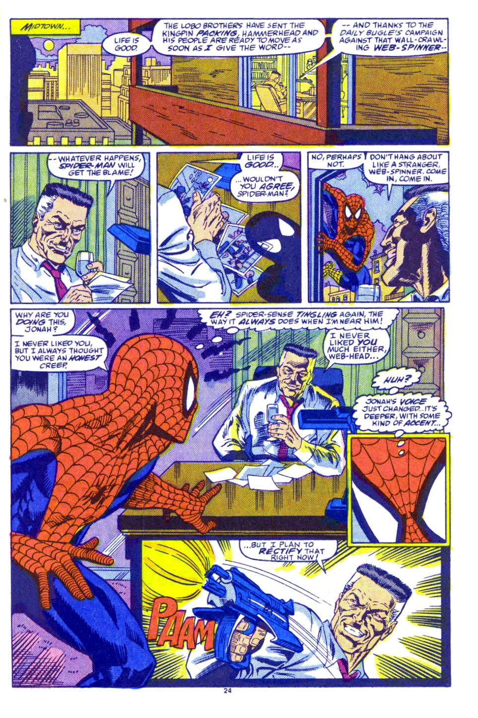 Web of Spider-Man (1985) Issue #54 #64 - English 19