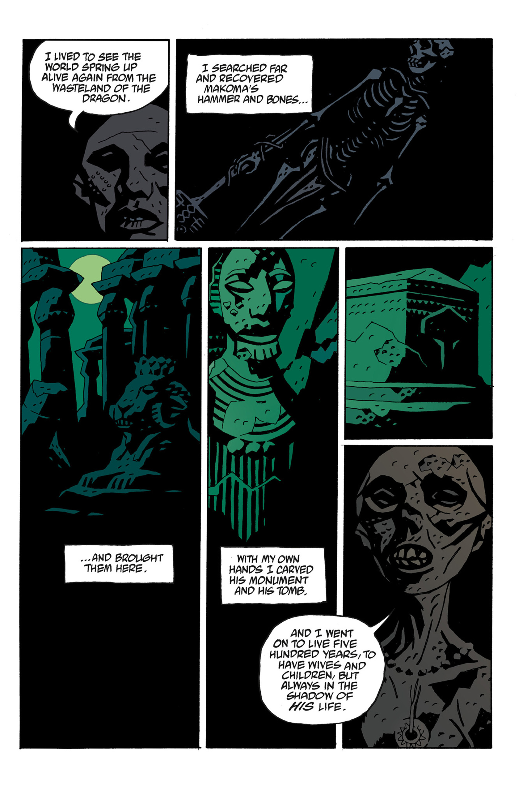 Read online Hellboy: The Troll Witch and Others comic -  Issue # TPB - 129