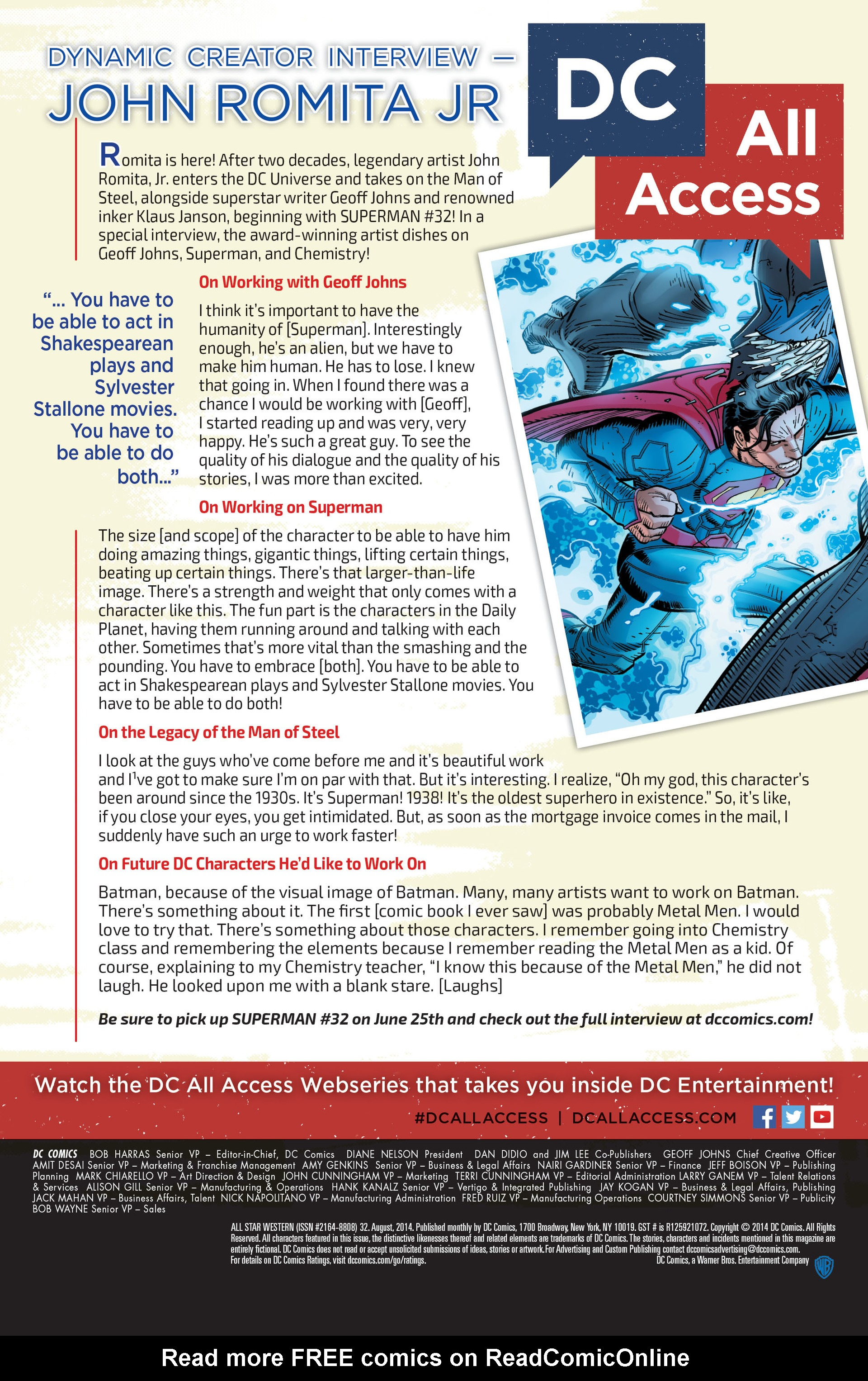 Read online All-Star Western (2011) comic -  Issue #32 - 30