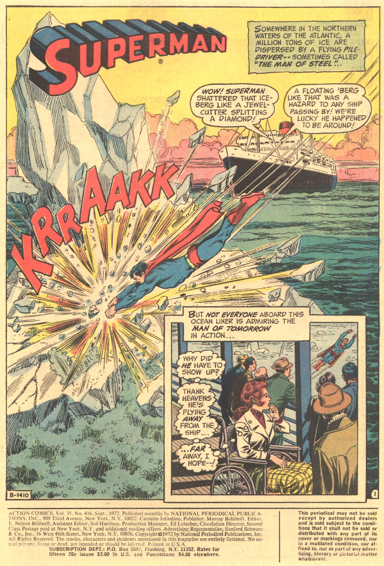 Read online Action Comics (1938) comic -  Issue #416 - 3