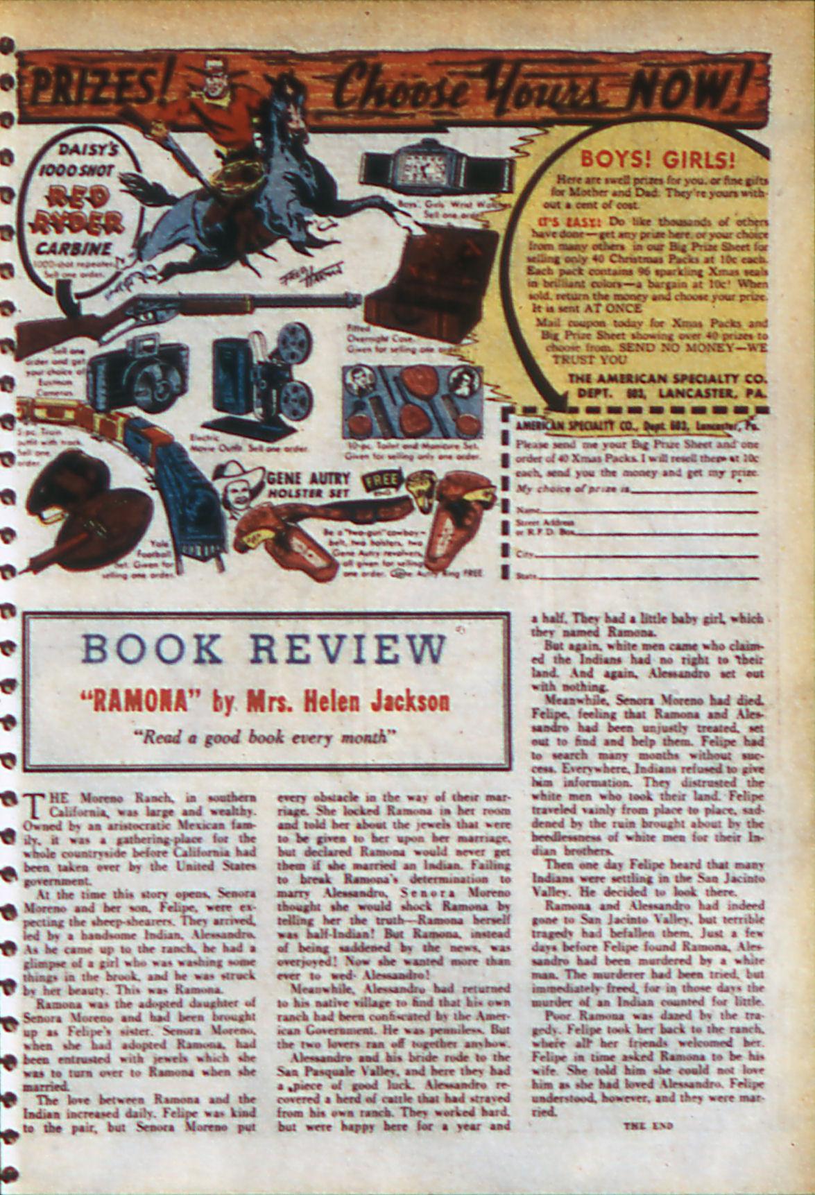 Read online Adventure Comics (1938) comic -  Issue #56 - 20