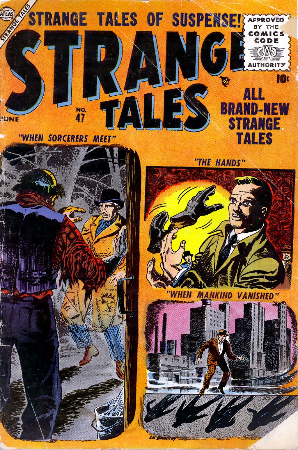 Strange Tales (1951) 47 Page 1