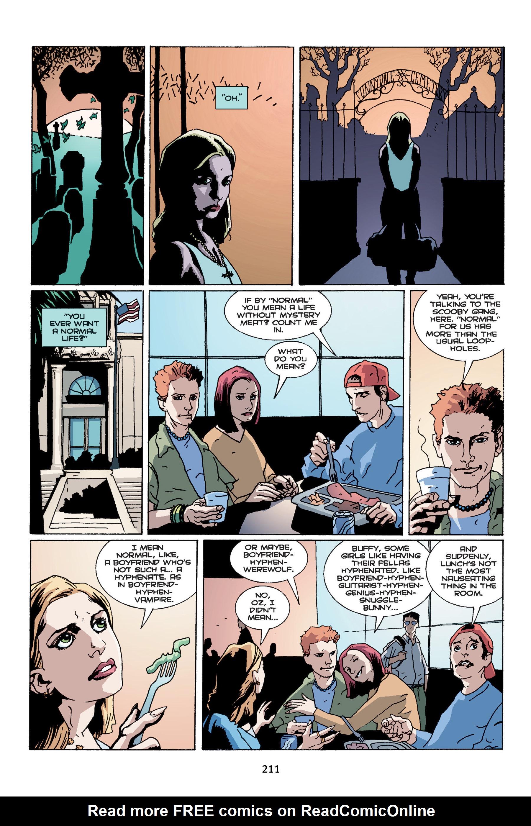 Read online Buffy the Vampire Slayer: Omnibus comic -  Issue # TPB 4 - 209