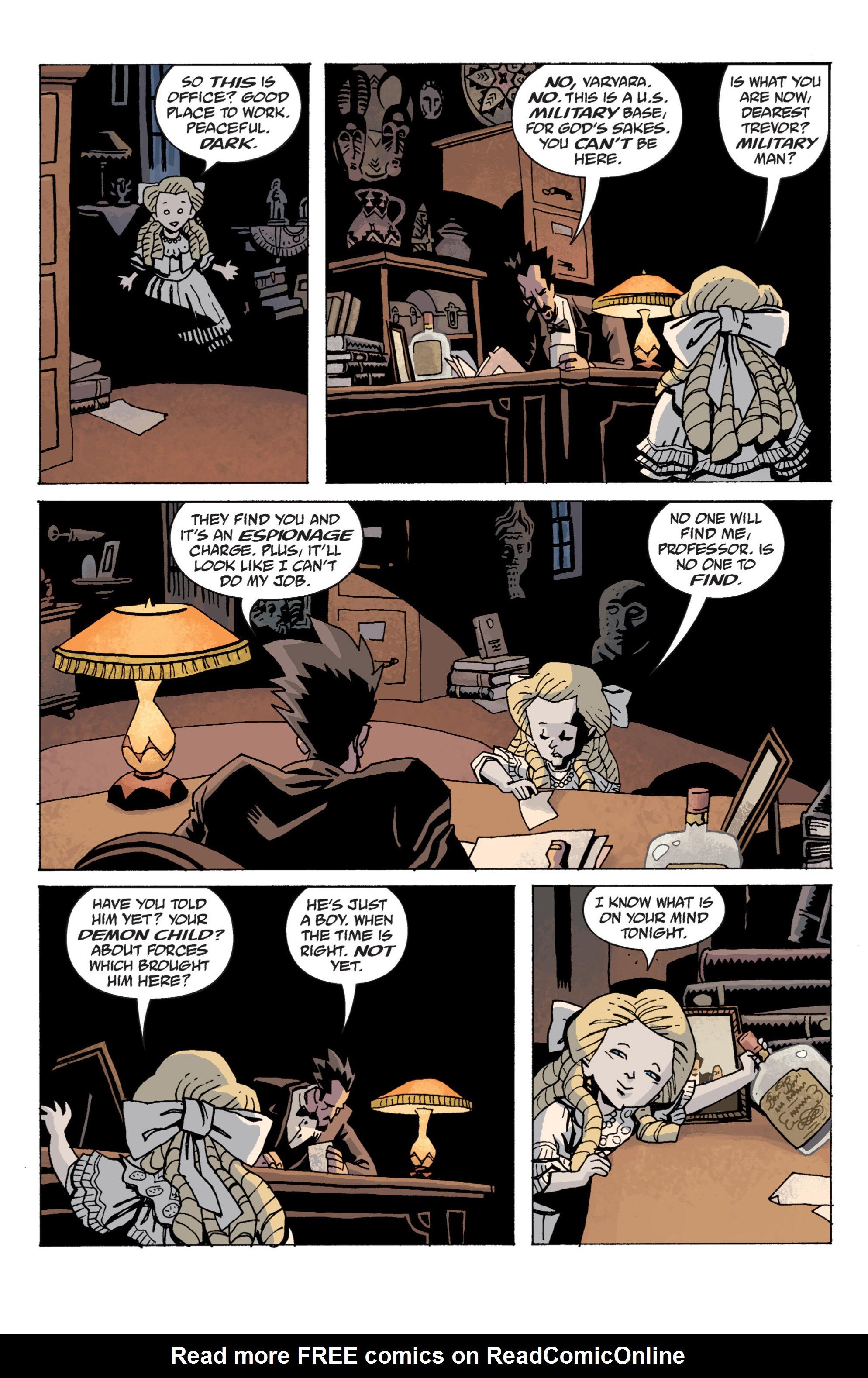 Read online B.P.R.D. (2003) comic -  Issue # TPB 13 - 12