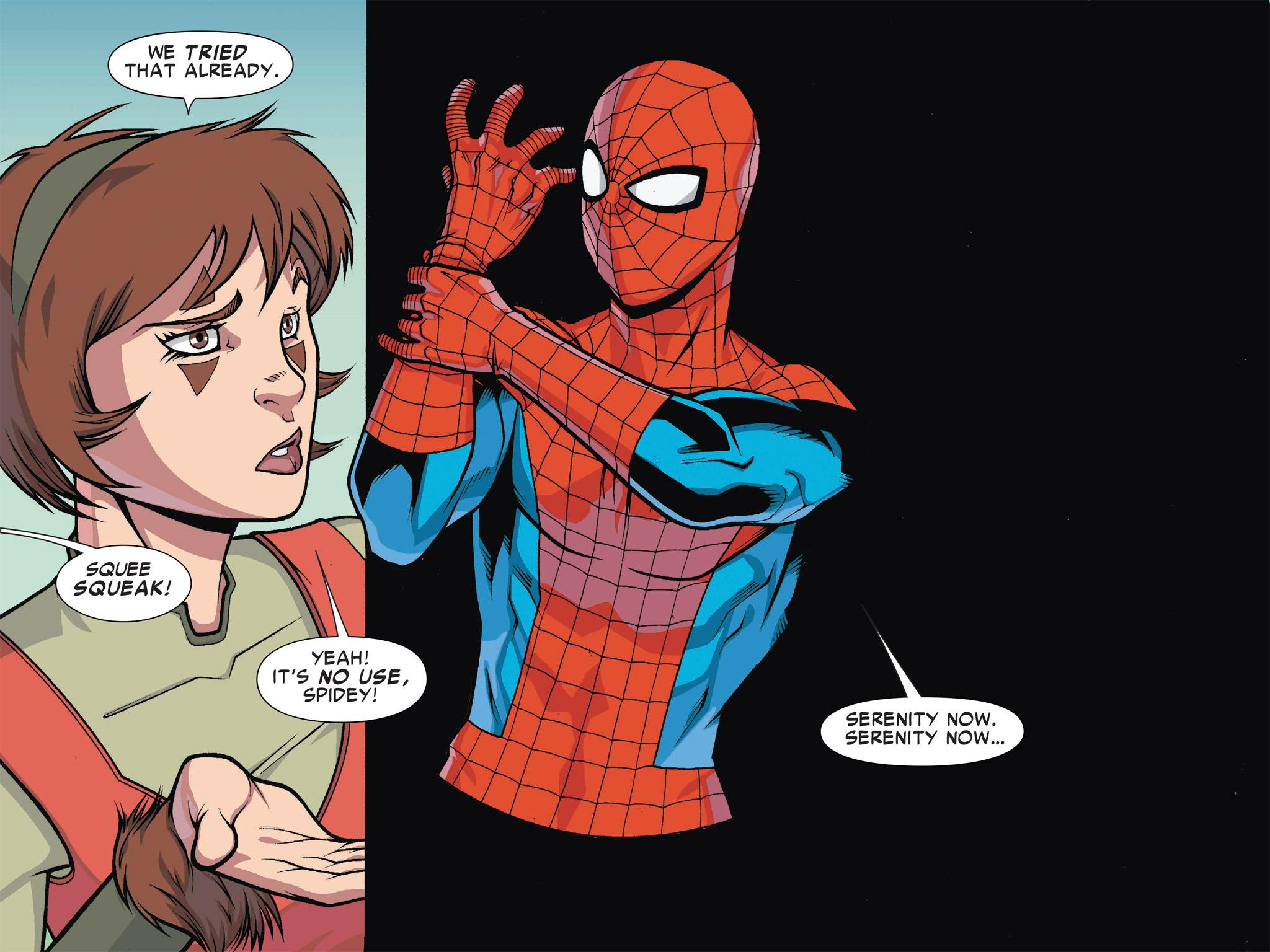 Read online Ultimate Spider-Man (Infinite Comics) (2016) comic -  Issue #1 - 21