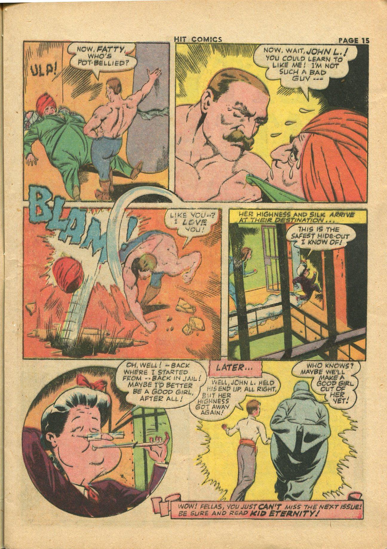 Read online Hit Comics comic -  Issue #28 - 18