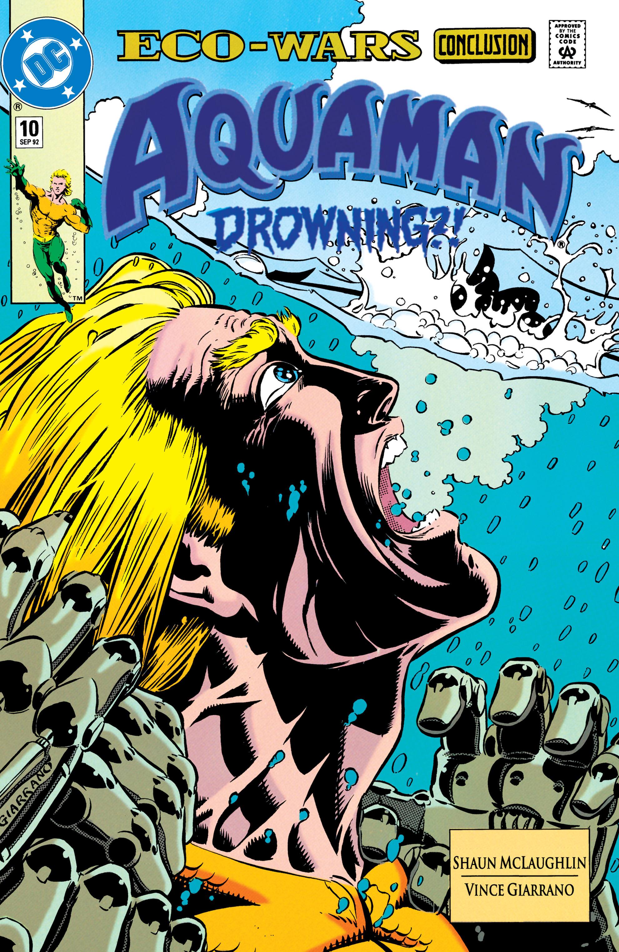 Aquaman (1991) 10 Page 1