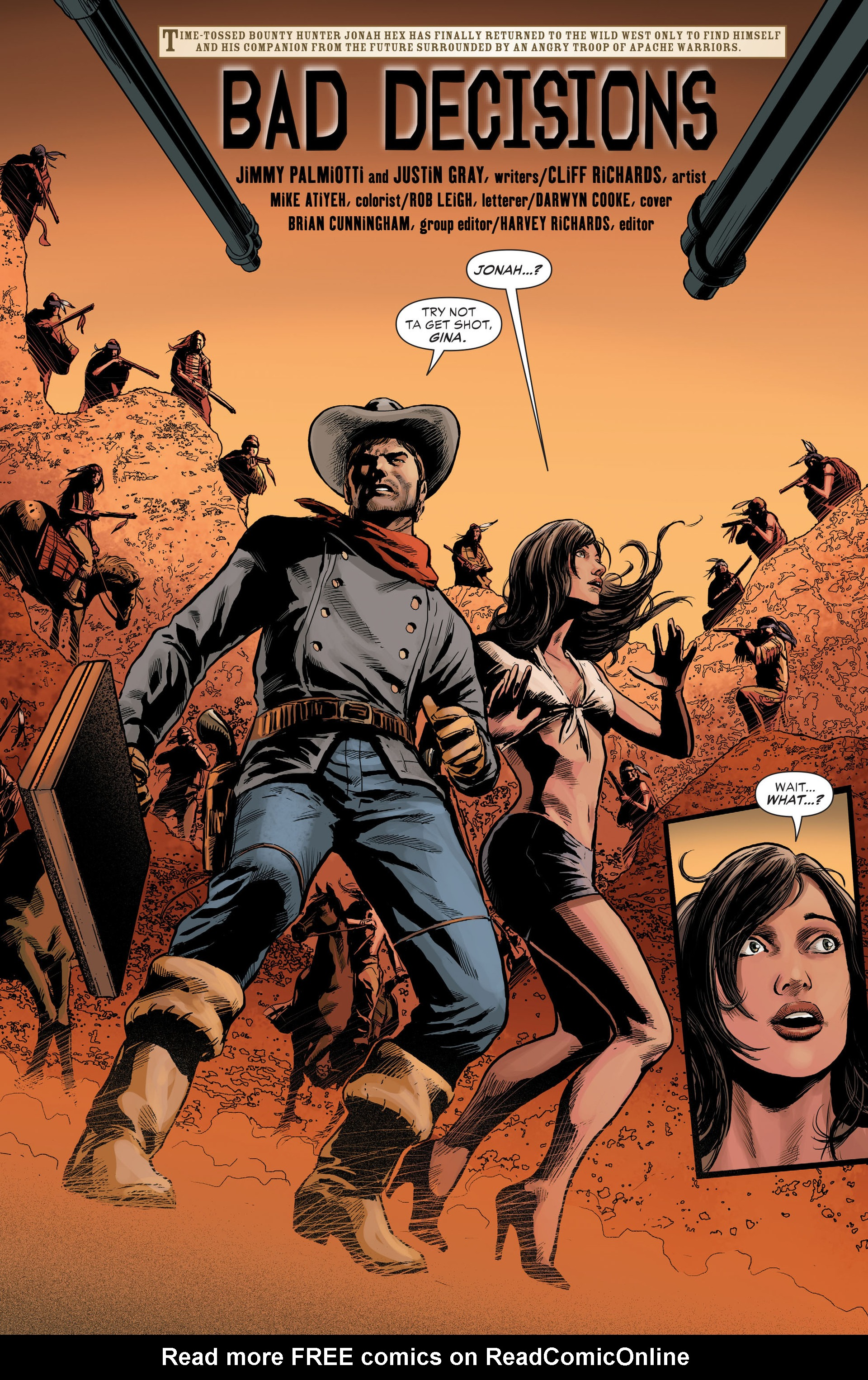Read online All-Star Western (2011) comic -  Issue #29 - 2