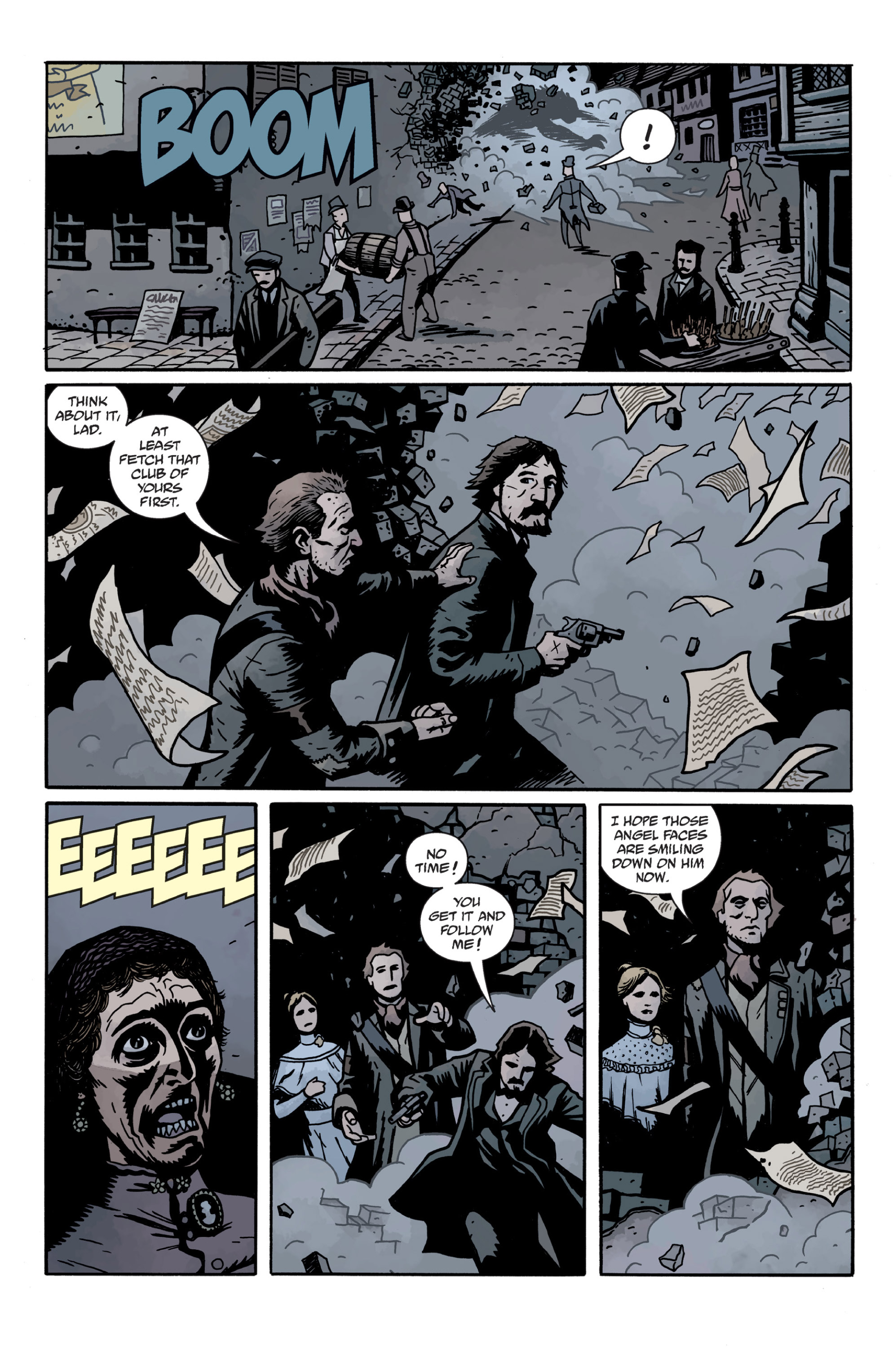 Read online Sir Edward Grey, Witchfinder: In the Service of Angels comic -  Issue # TPB - 82