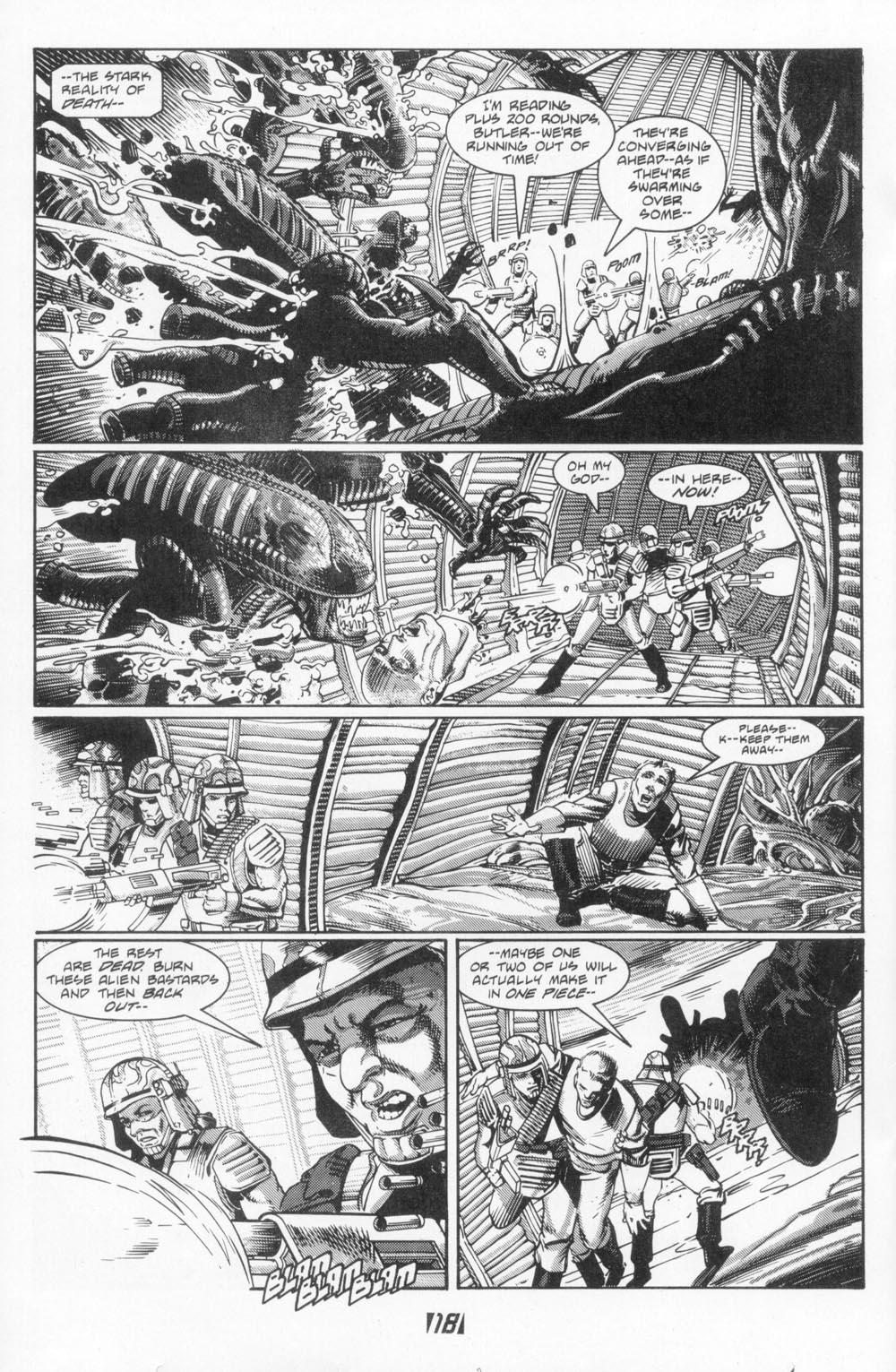 Read online Aliens (1988) comic -  Issue #5 - 20