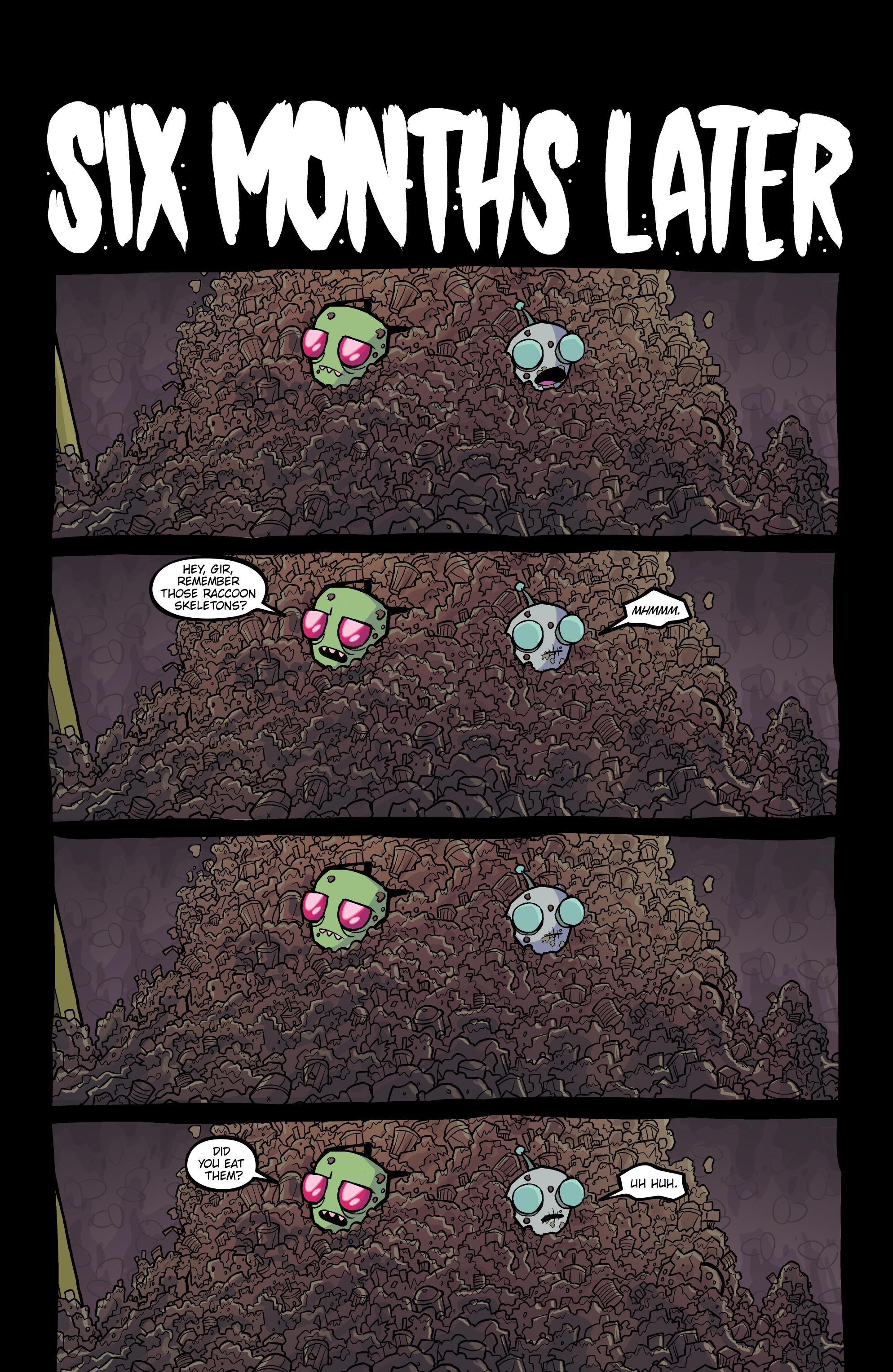 Read online Invader Zim comic -  Issue #20 - 20