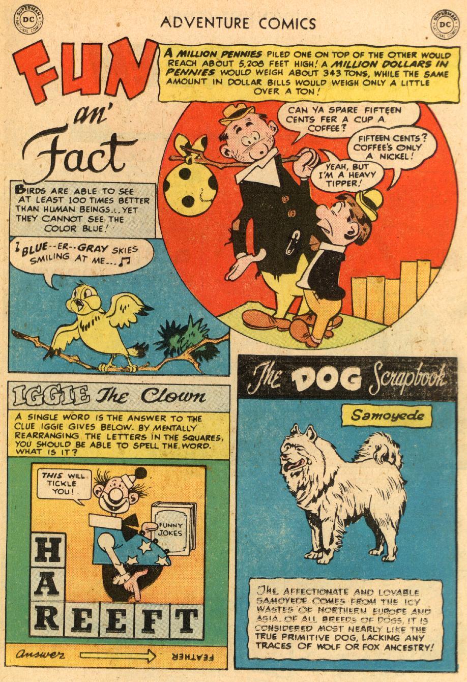 Read online Adventure Comics (1938) comic -  Issue #249 - 17