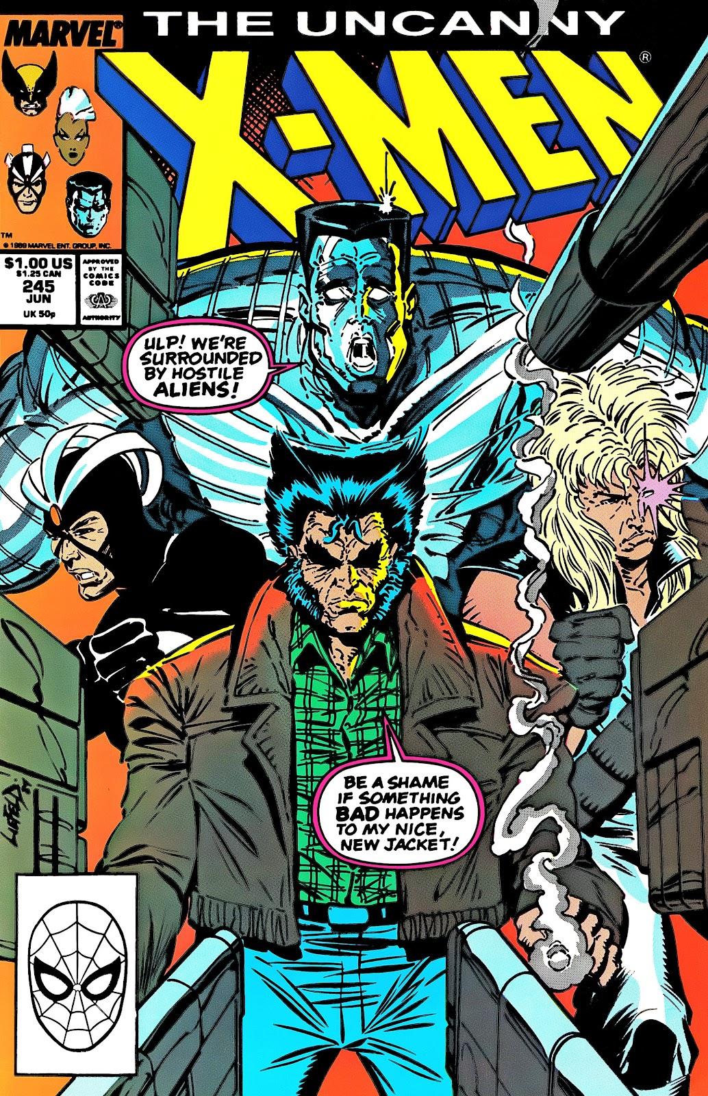 Uncanny X-Men (1963) 245 Page 1
