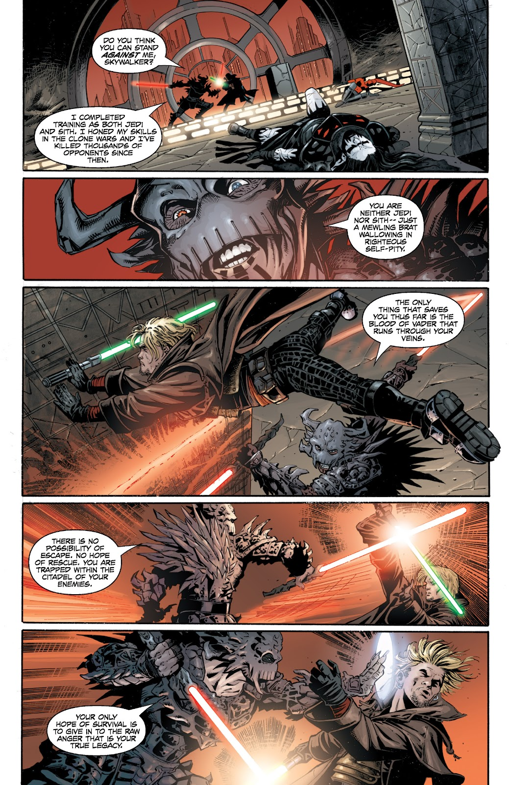 Read online Star Wars Legends: Legacy - Epic Collection comic -  Issue # TPB 1 (Part 5) - 49