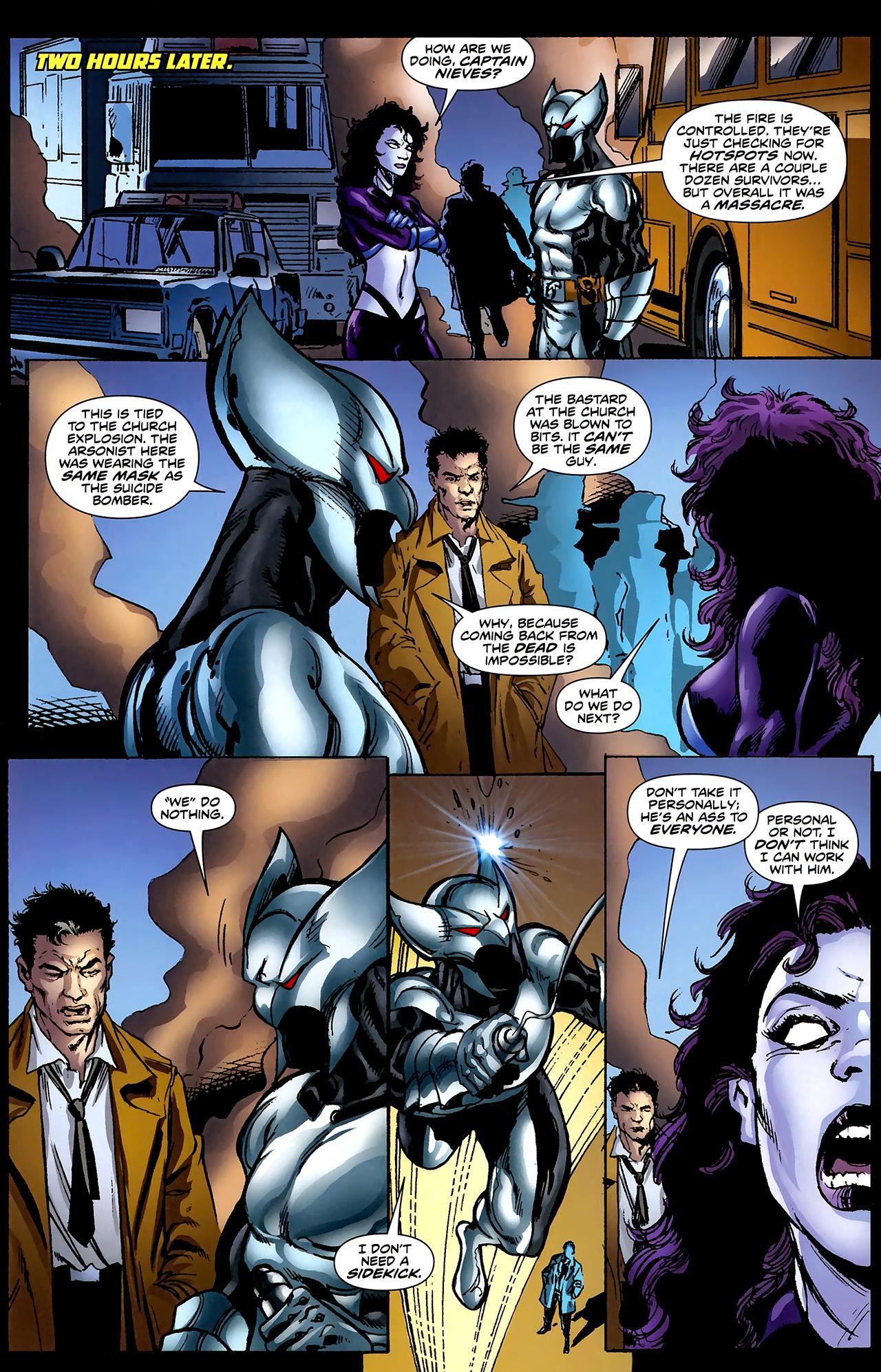 Read online ShadowHawk (2010) comic -  Issue #2 - 22