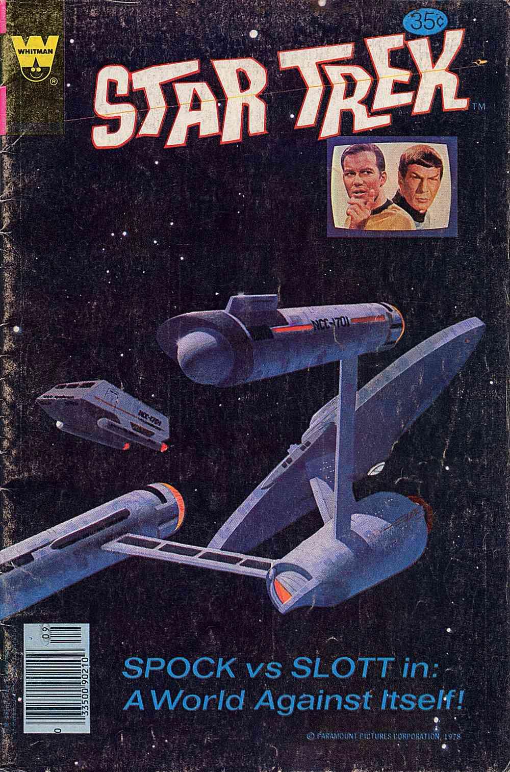 Star Trek (1967) issue 55 - Page 1