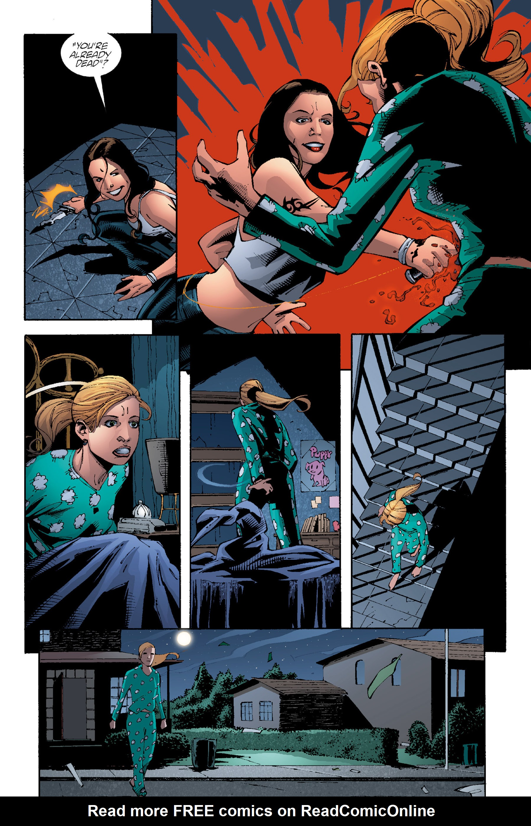 Read online Buffy the Vampire Slayer: Omnibus comic -  Issue # TPB 5 - 84