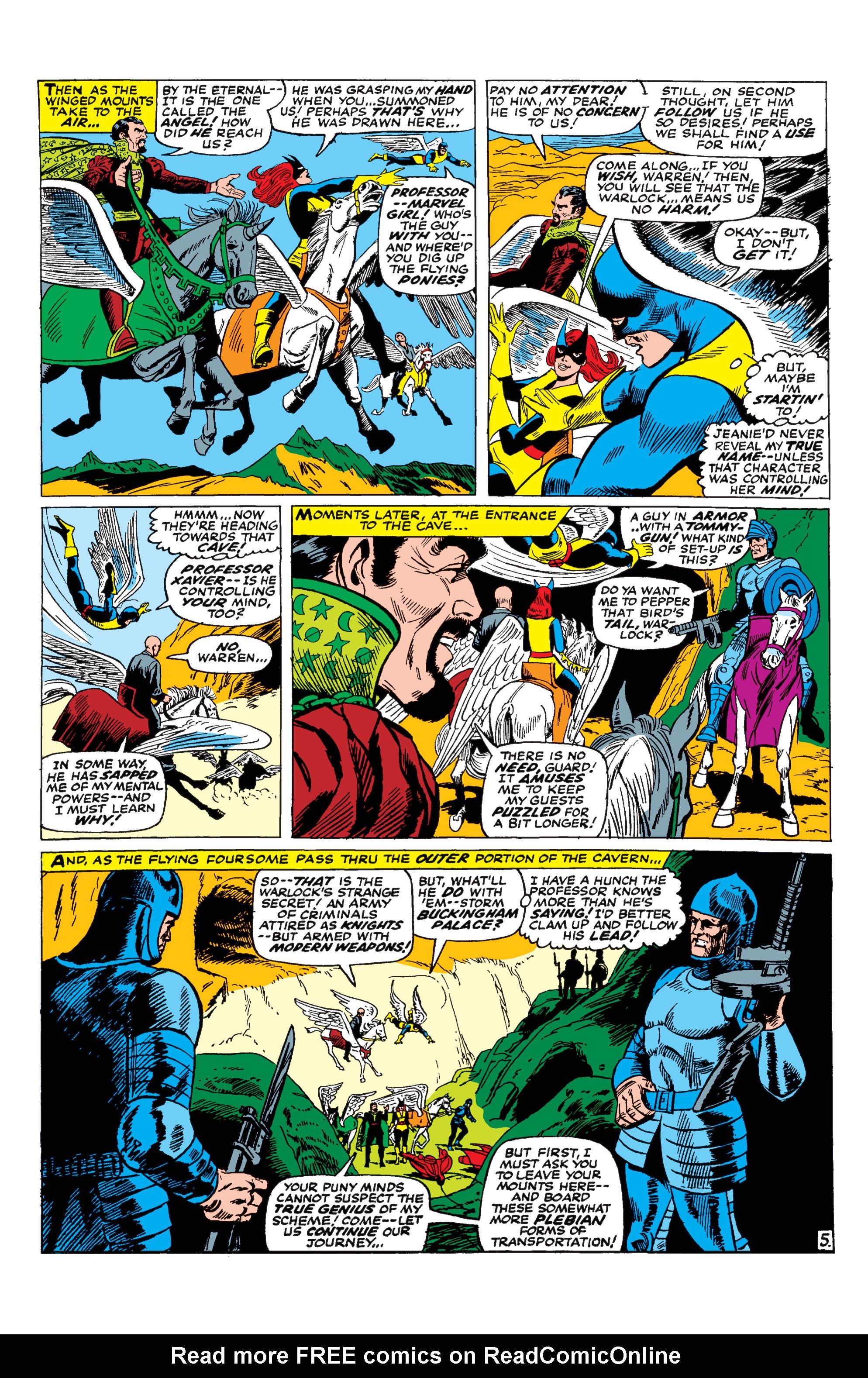 Uncanny X-Men (1963) 30 Page 5