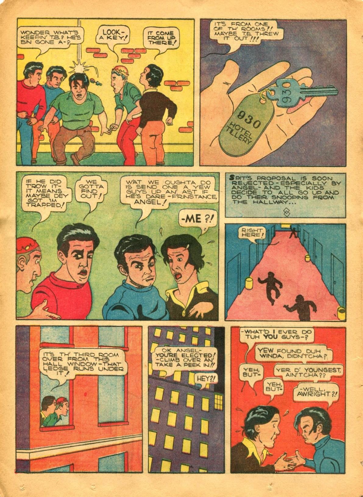 Read online Shadow Comics comic -  Issue #12 - 38