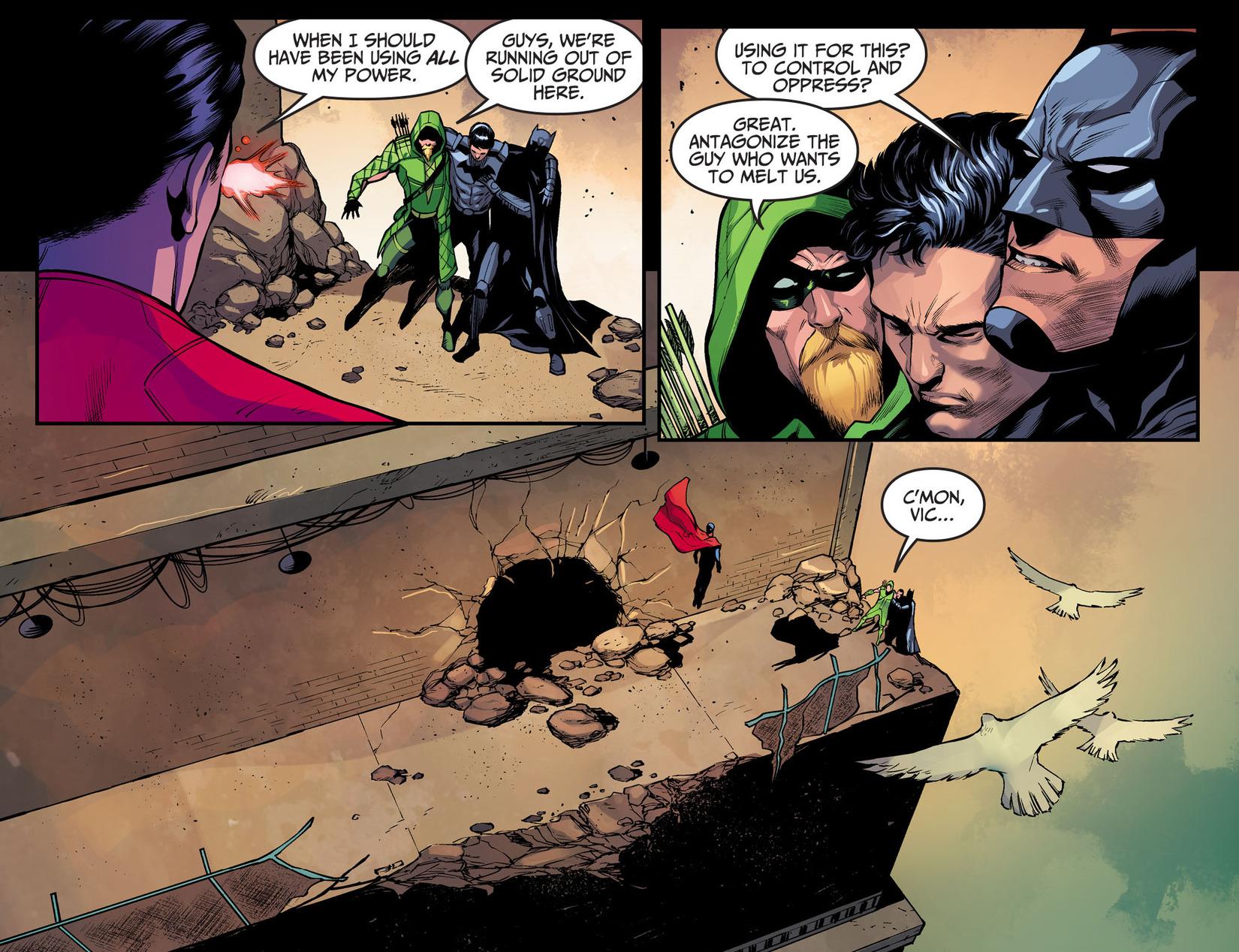 Read online Injustice: Ground Zero comic -  Issue #17 - 8