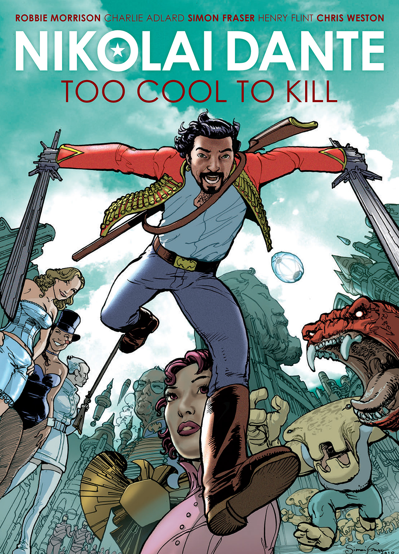 Read online Nikolai Dante comic -  Issue # TPB 1 - 1