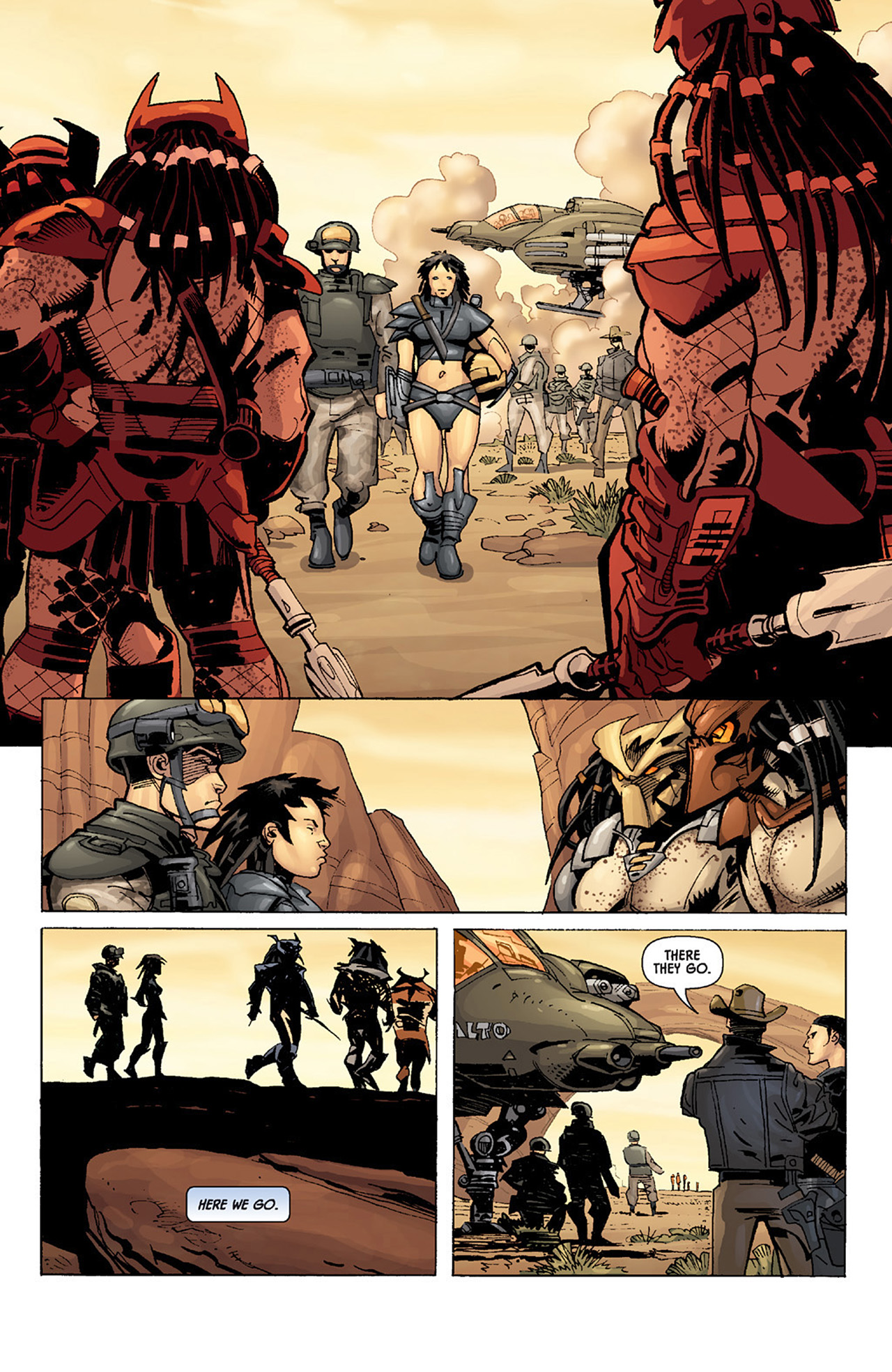 Read online Aliens vs. Predator: Three World War comic -  Issue #3 - 6