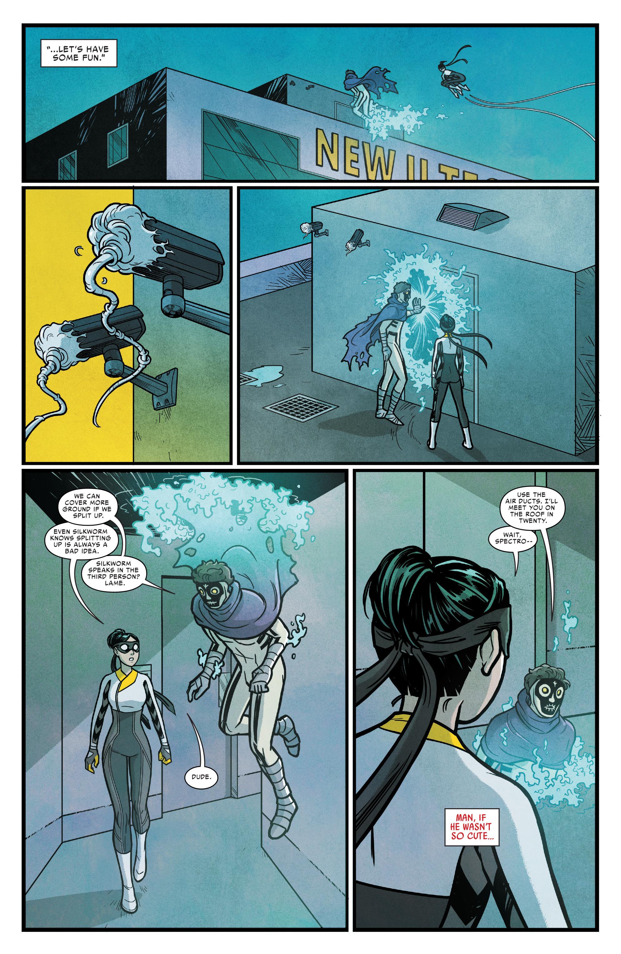 Read online Silk (2016) comic -  Issue #14 - 17