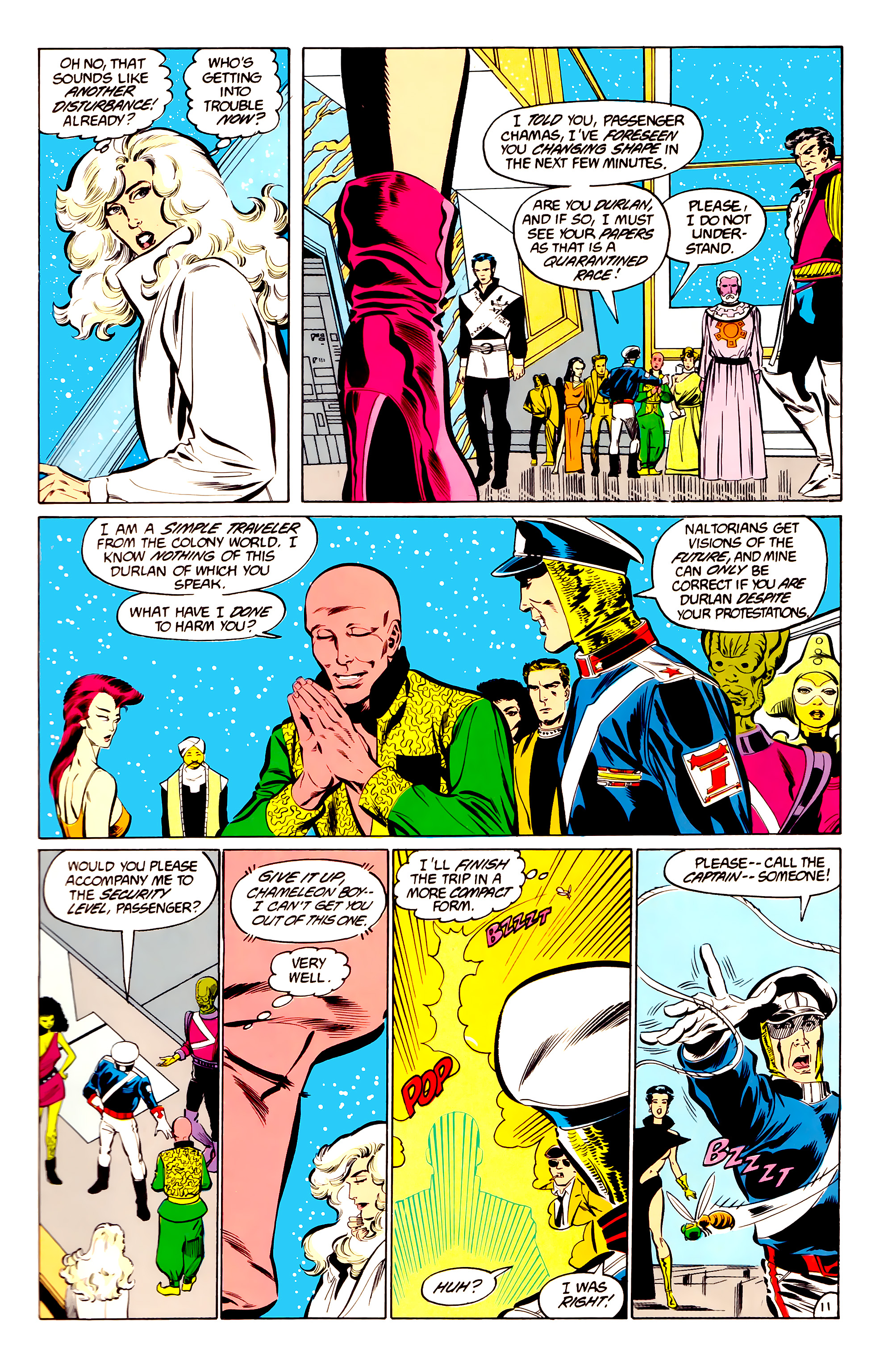 Legion of Super-Heroes (1984) 34 Page 11