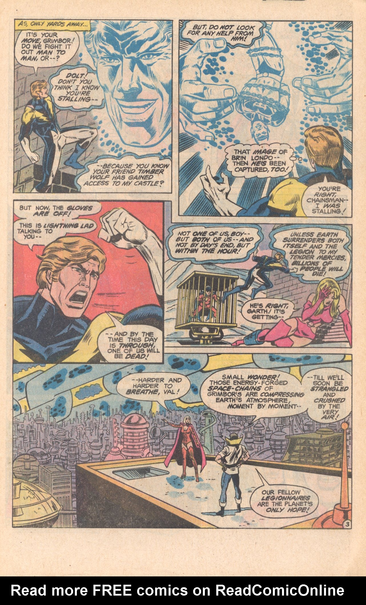 Legion of Super-Heroes (1980) 279 Page 3