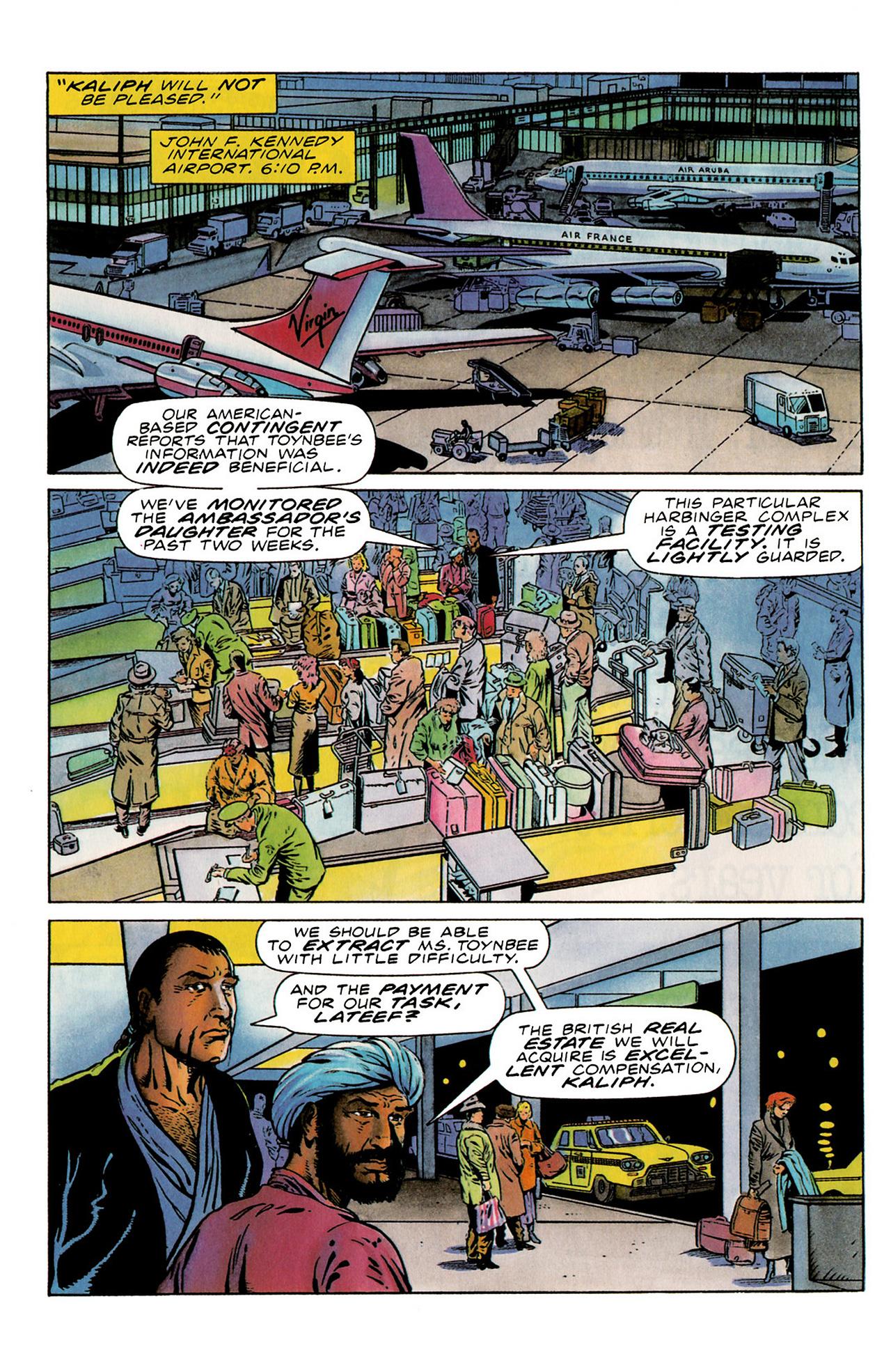 Read online Harbinger (1992) comic -  Issue #19 - 8